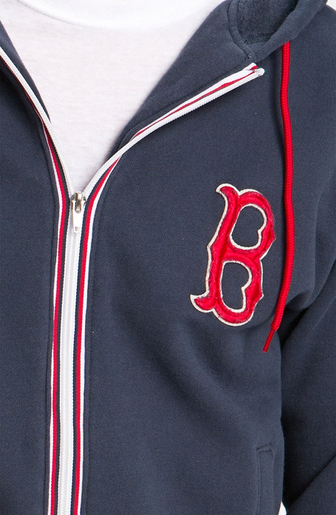 'Boston Red Sox' Hoodie,                             Alternate thumbnail 3, color,                             410