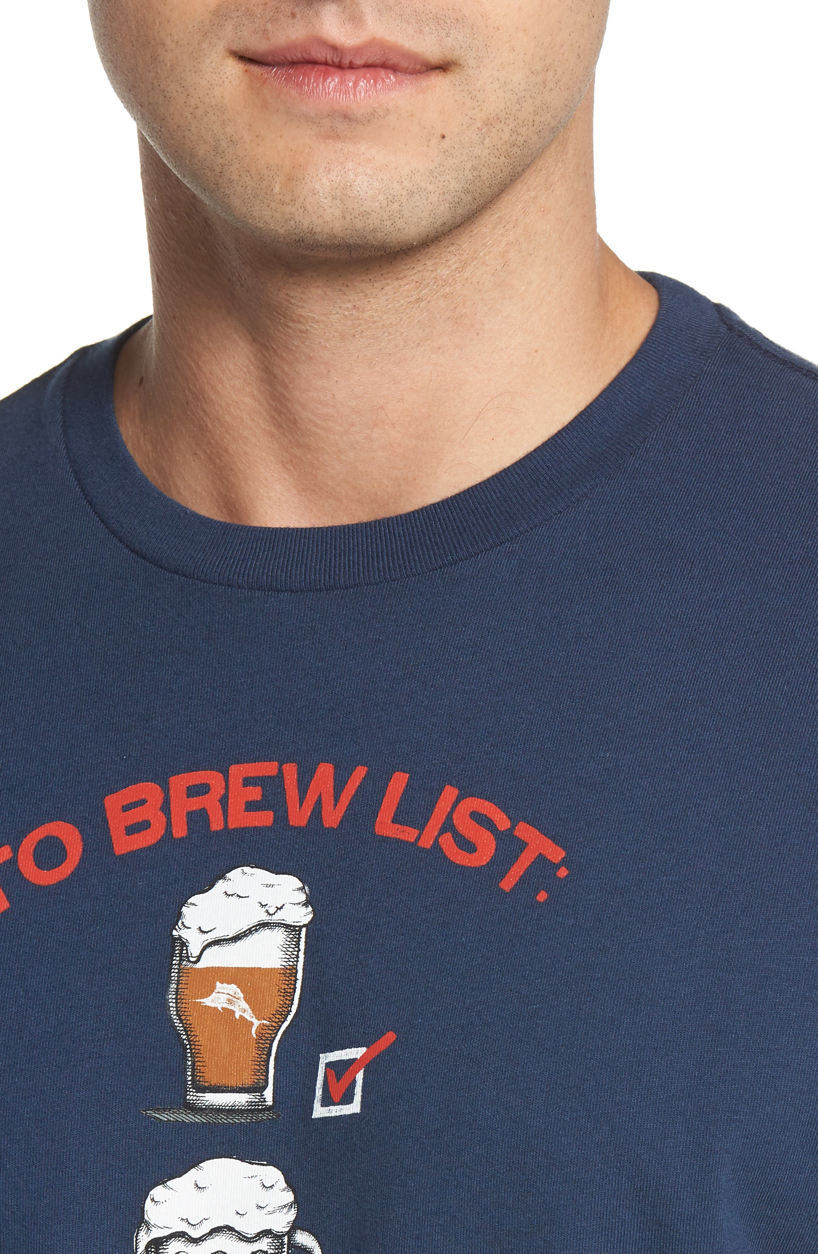 To Brew List T-Shirt,                             Alternate thumbnail 4, color,                             400