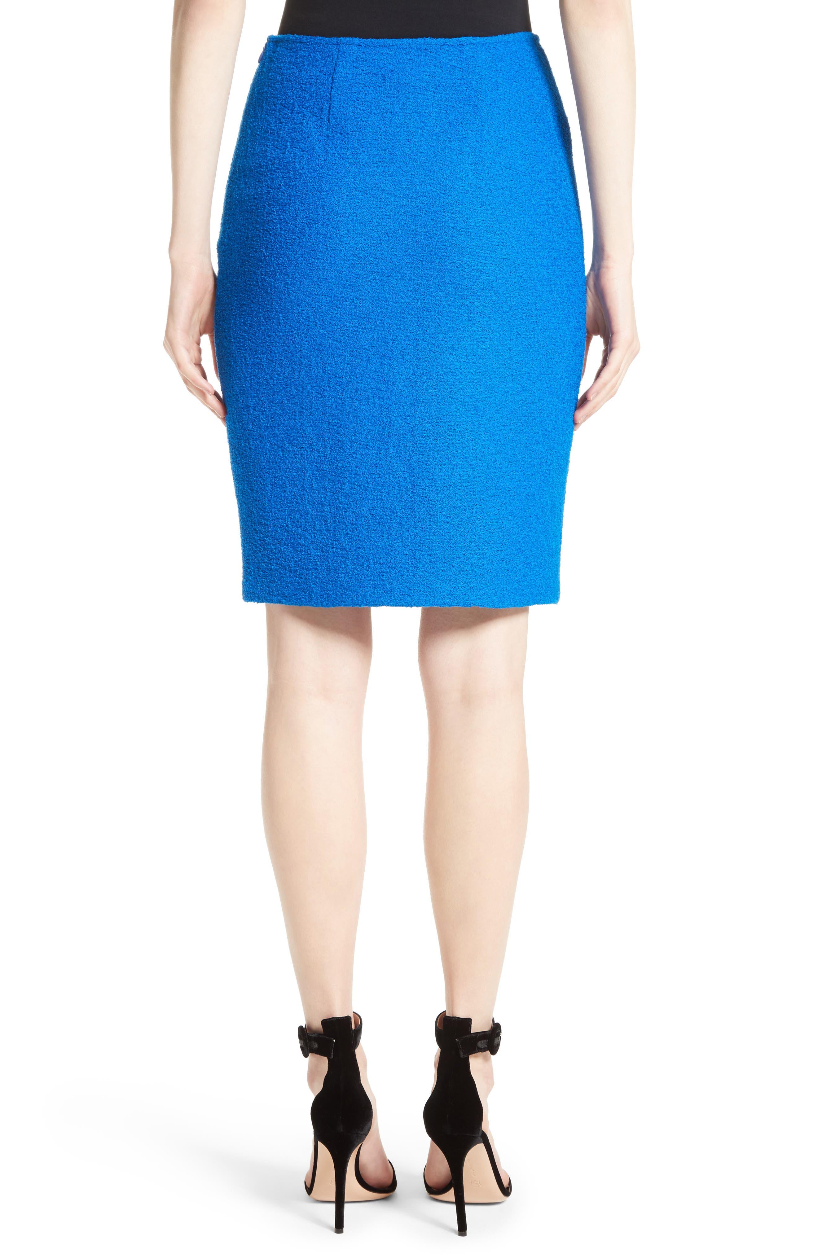 Clair Knit Pencil Skirt,                             Alternate thumbnail 2, color,                             430