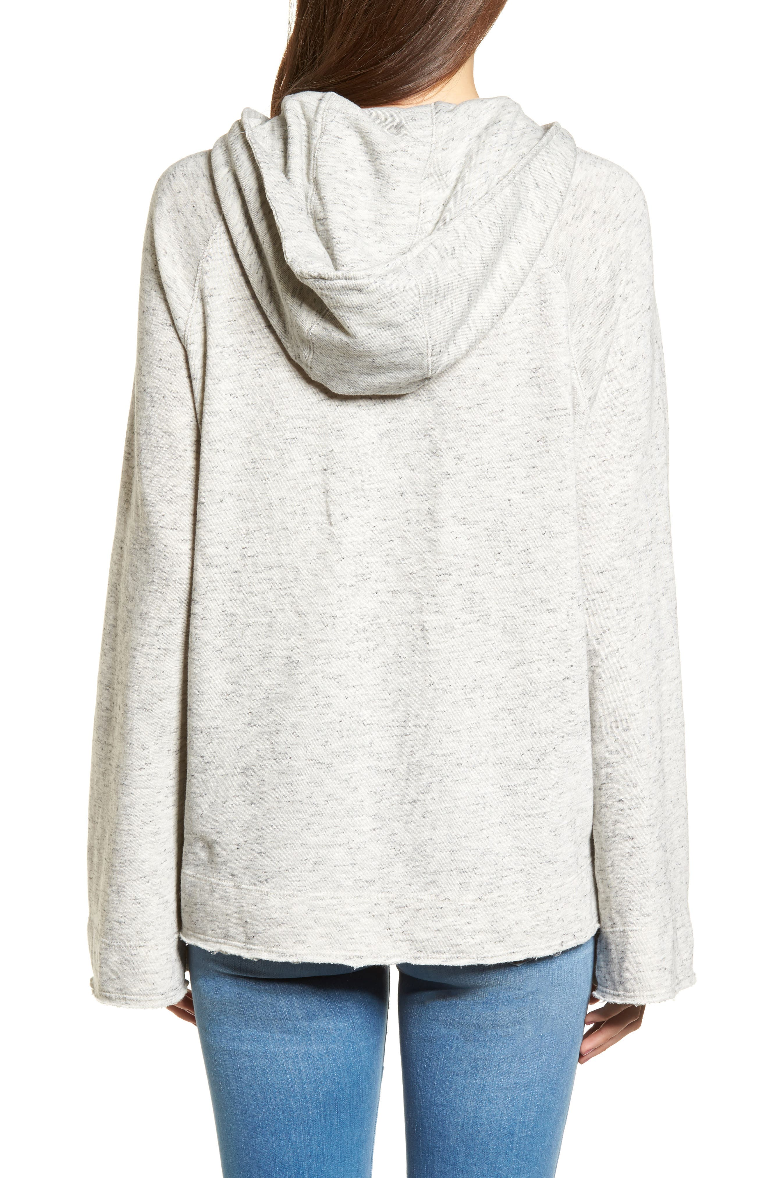 Sidelight Cowl Neck Hoodie,                             Alternate thumbnail 2, color,                             020