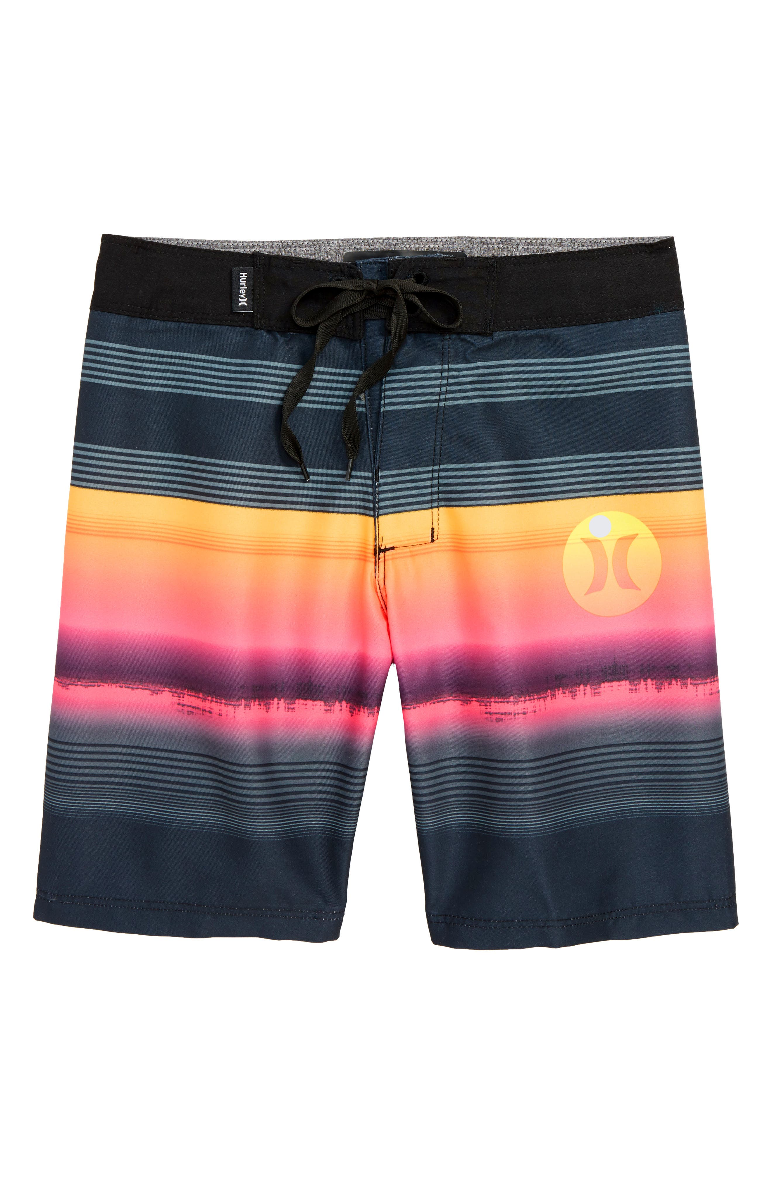 HURLEY,                             Gavitos Board Shorts,                             Main thumbnail 1, color,                             001