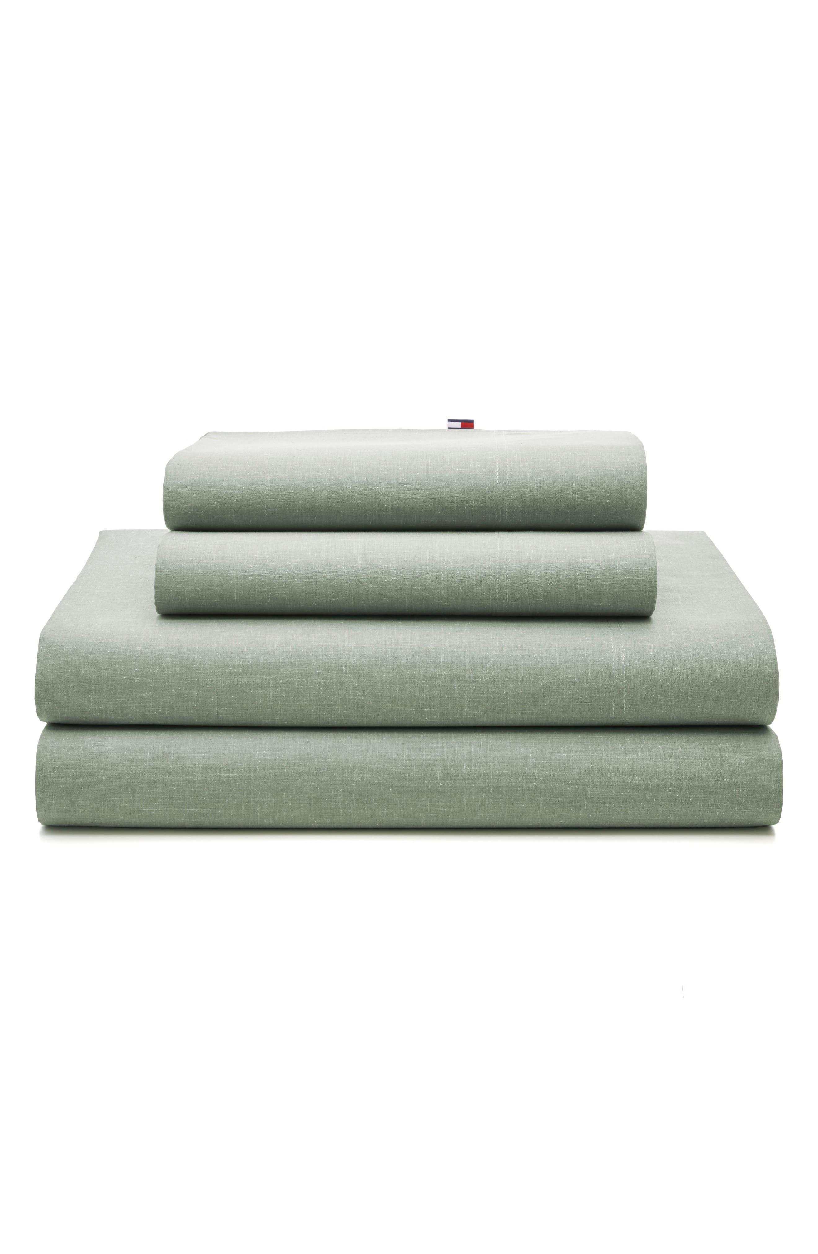 Chambray Pillowcases,                             Main thumbnail 2, color,