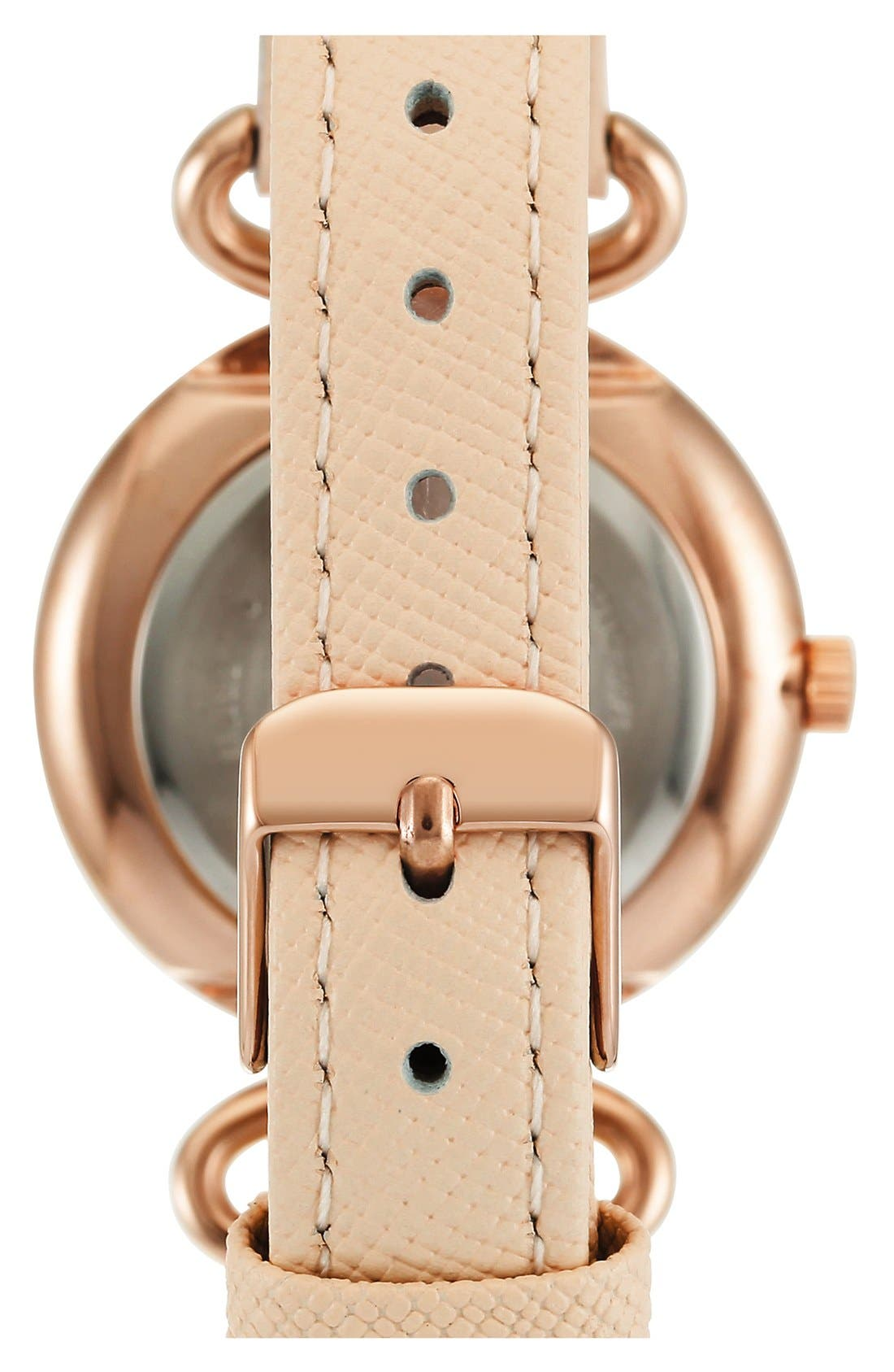 Leather Strap Watch, 32mm,                             Alternate thumbnail 5, color,