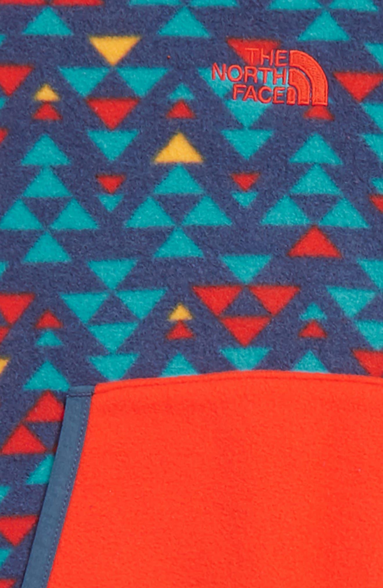 Glacier One-Piece,                             Alternate thumbnail 2, color,                             SHADY BLUE/ AZTEC PRINT