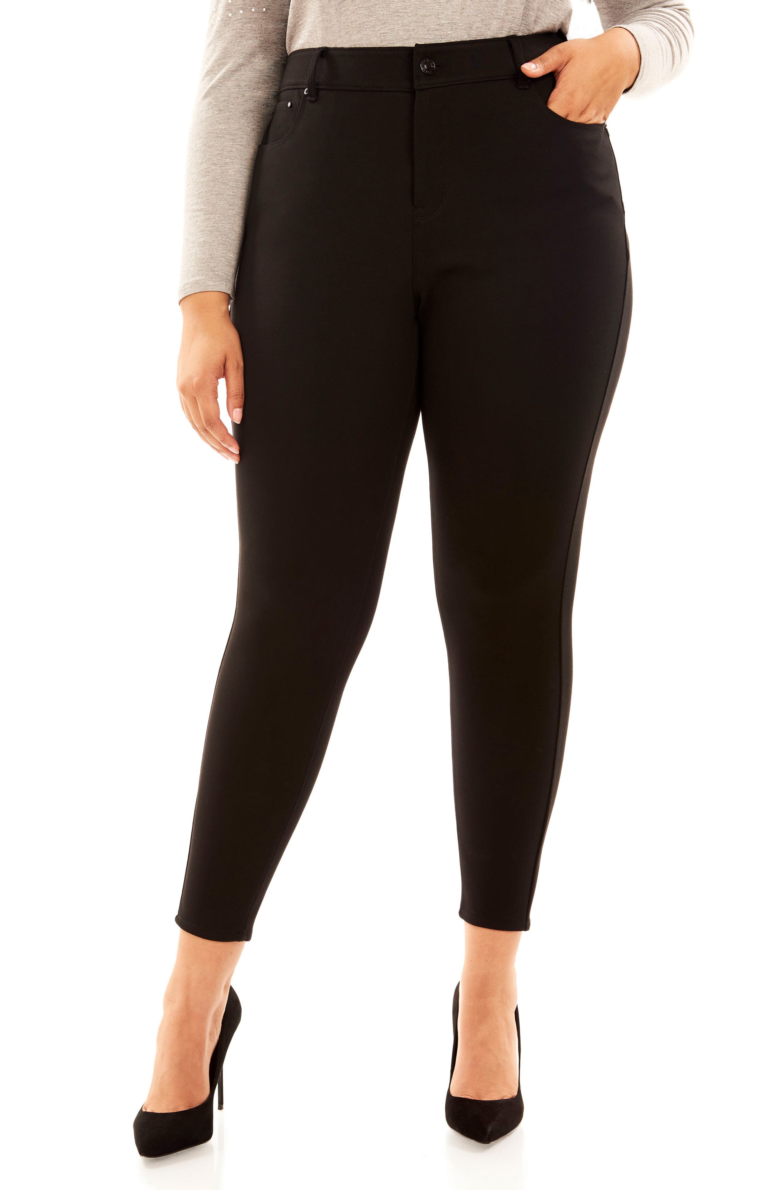 The Super Bass Midrise Ankle Pants,                         Main,                         color, 001
