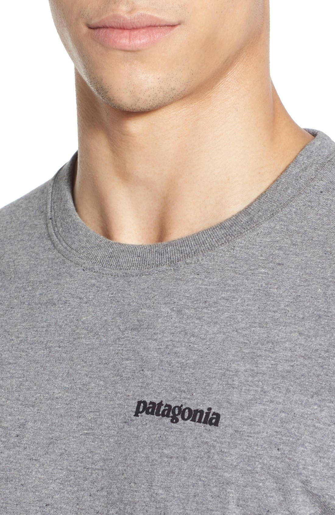 'P-6 Logo' Organic Cotton T-Shirt,                             Alternate thumbnail 19, color,