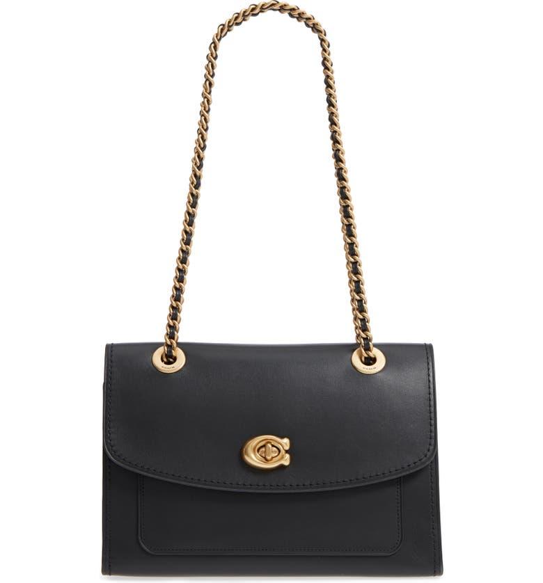 7265d1ef88f4 COACH Parker Leather Shoulder Bag