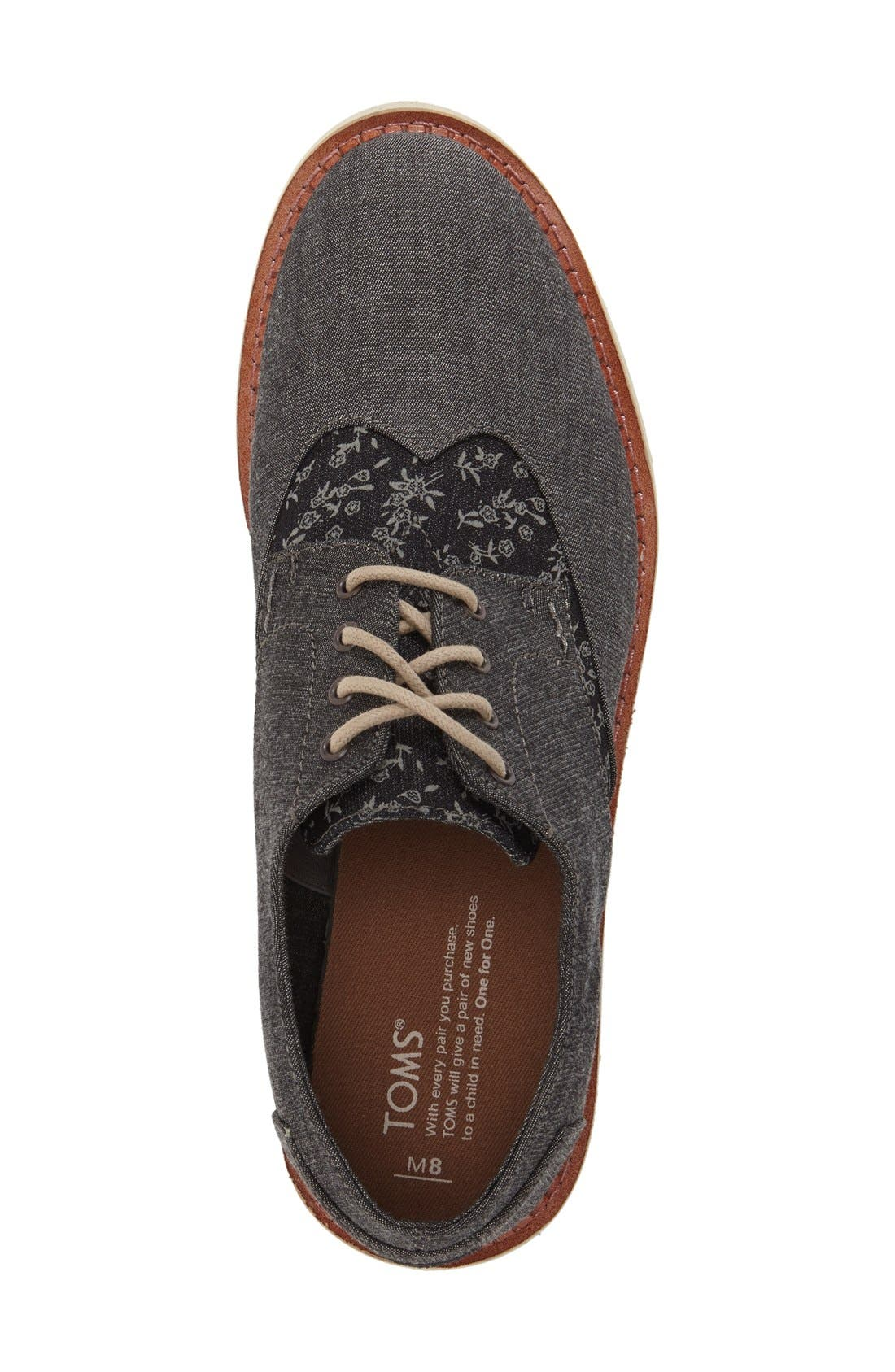 'Classic Brogue' Cotton Twill Derby,                             Alternate thumbnail 70, color,