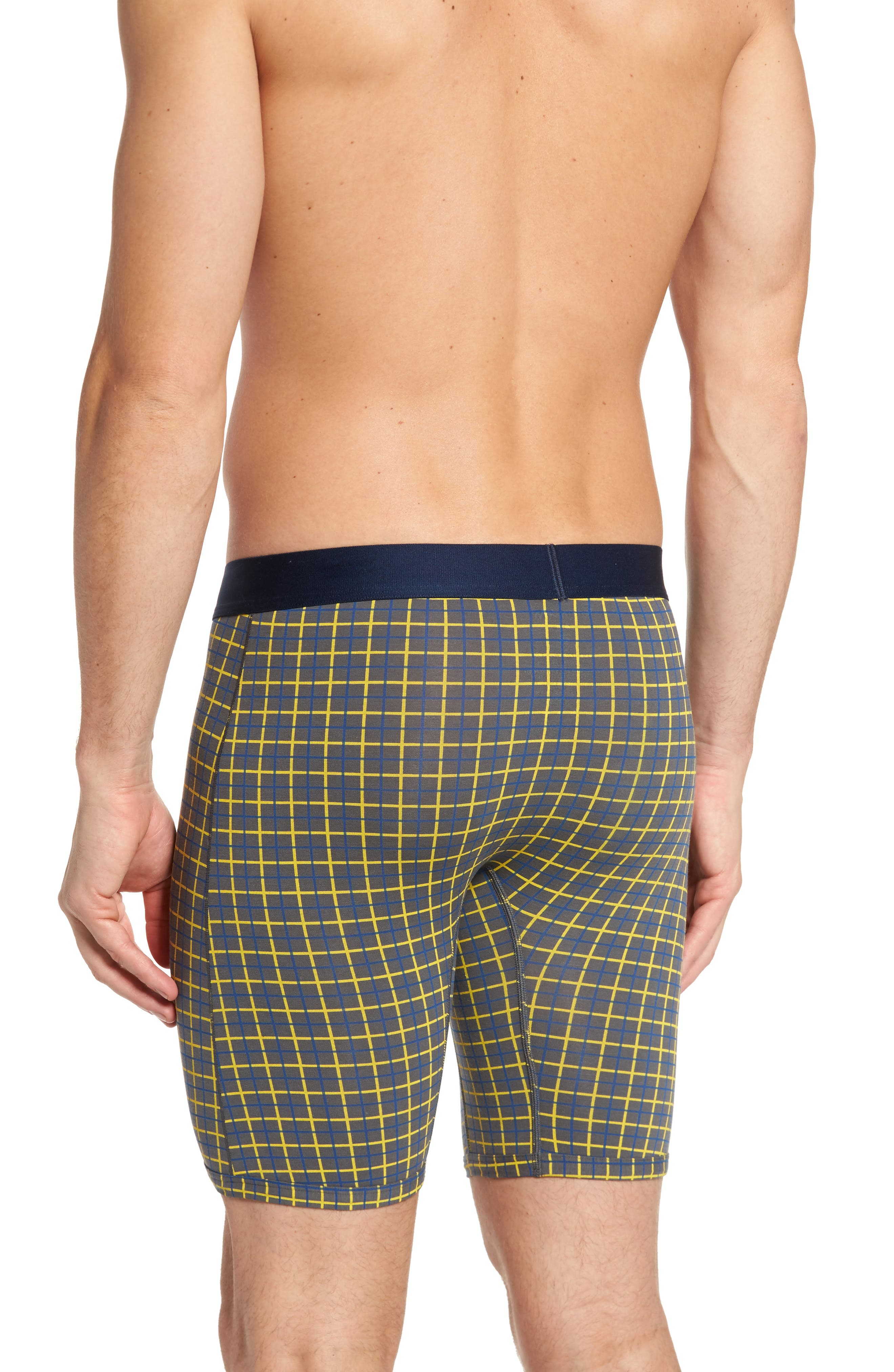 Cool Cotton Quad Print Boxer Briefs,                             Alternate thumbnail 2, color,                             052