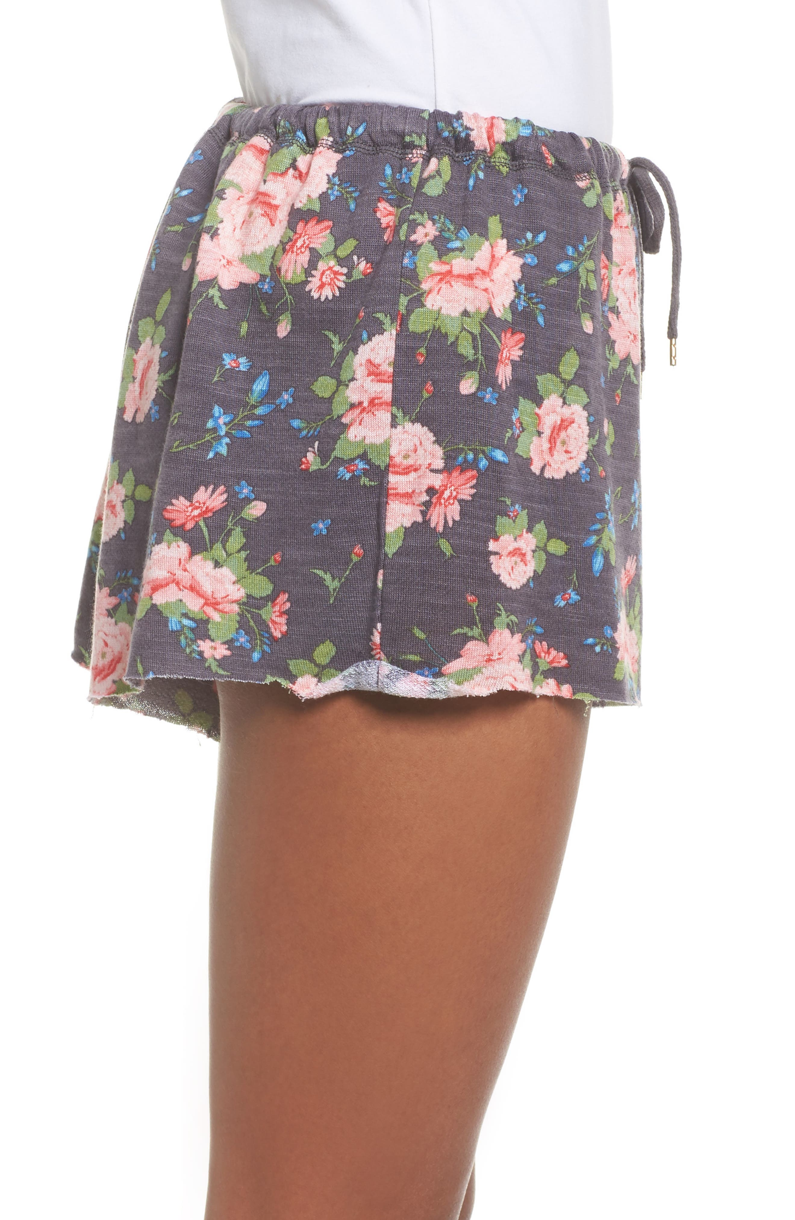 French Terry Lounge Shorts,                             Alternate thumbnail 6, color,