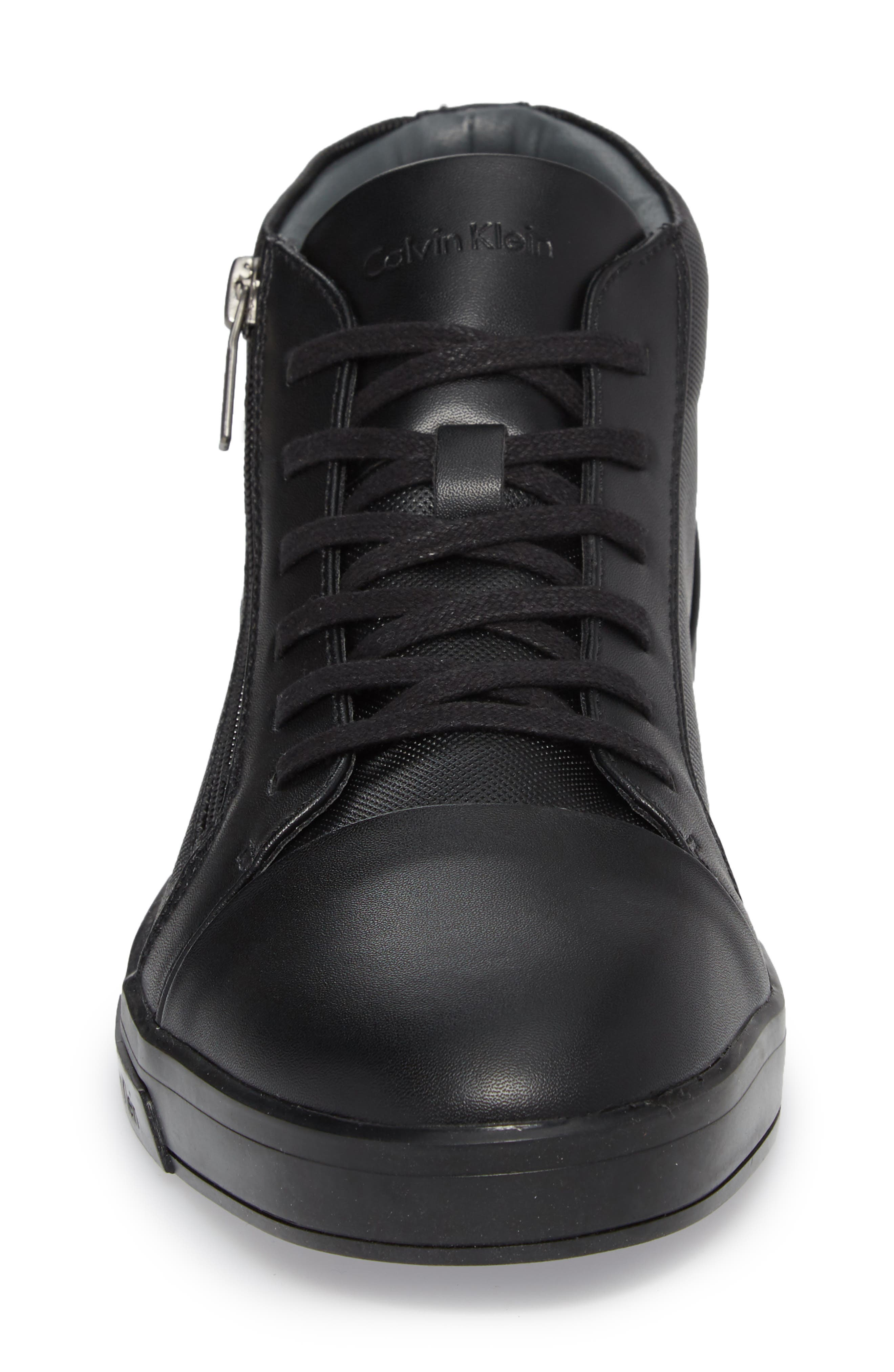 Bozeman High Top Sneaker,                             Alternate thumbnail 4, color,