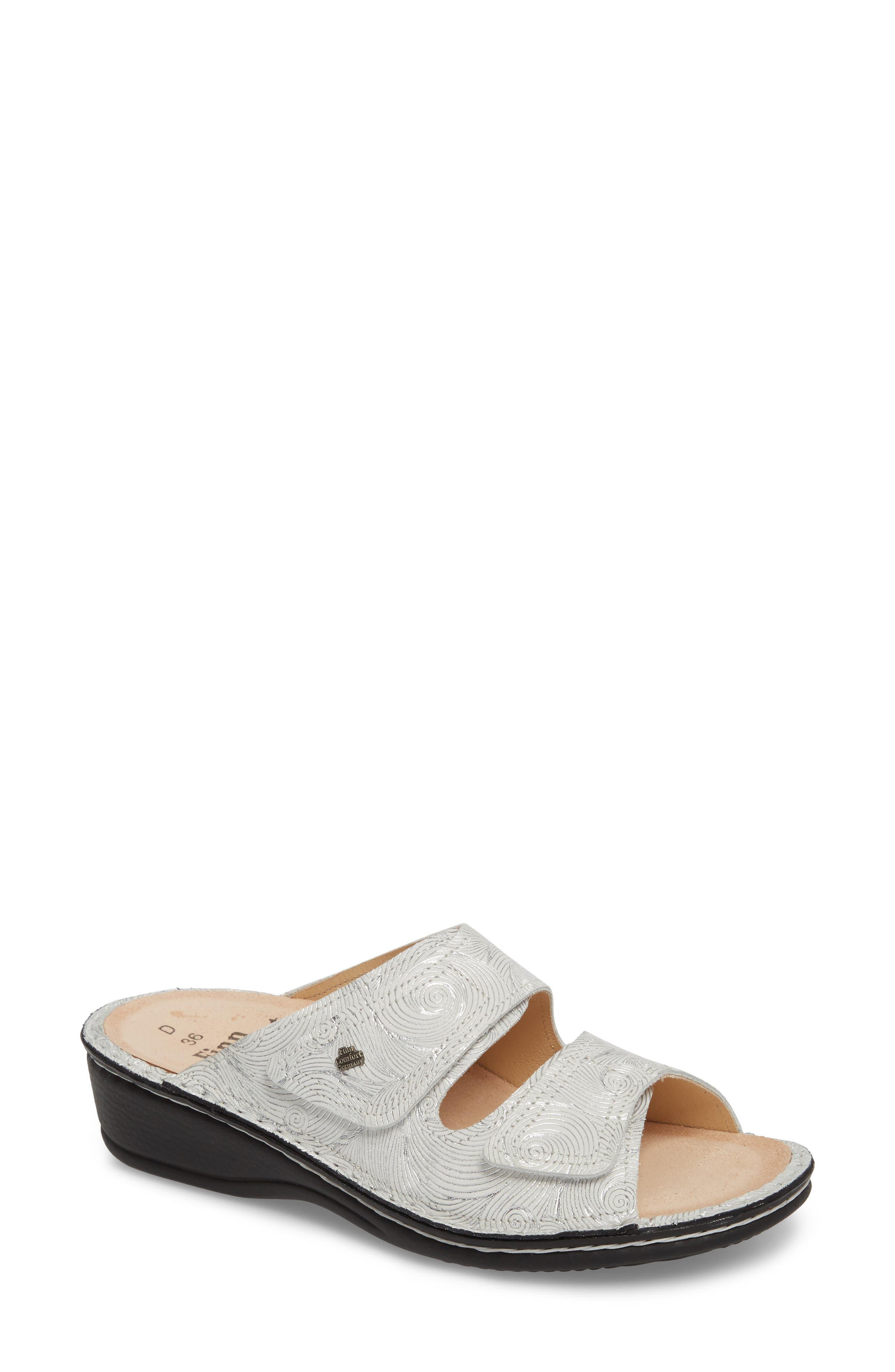 FINN COMFORT 'Jamaica' Sandal, Main, color, 100