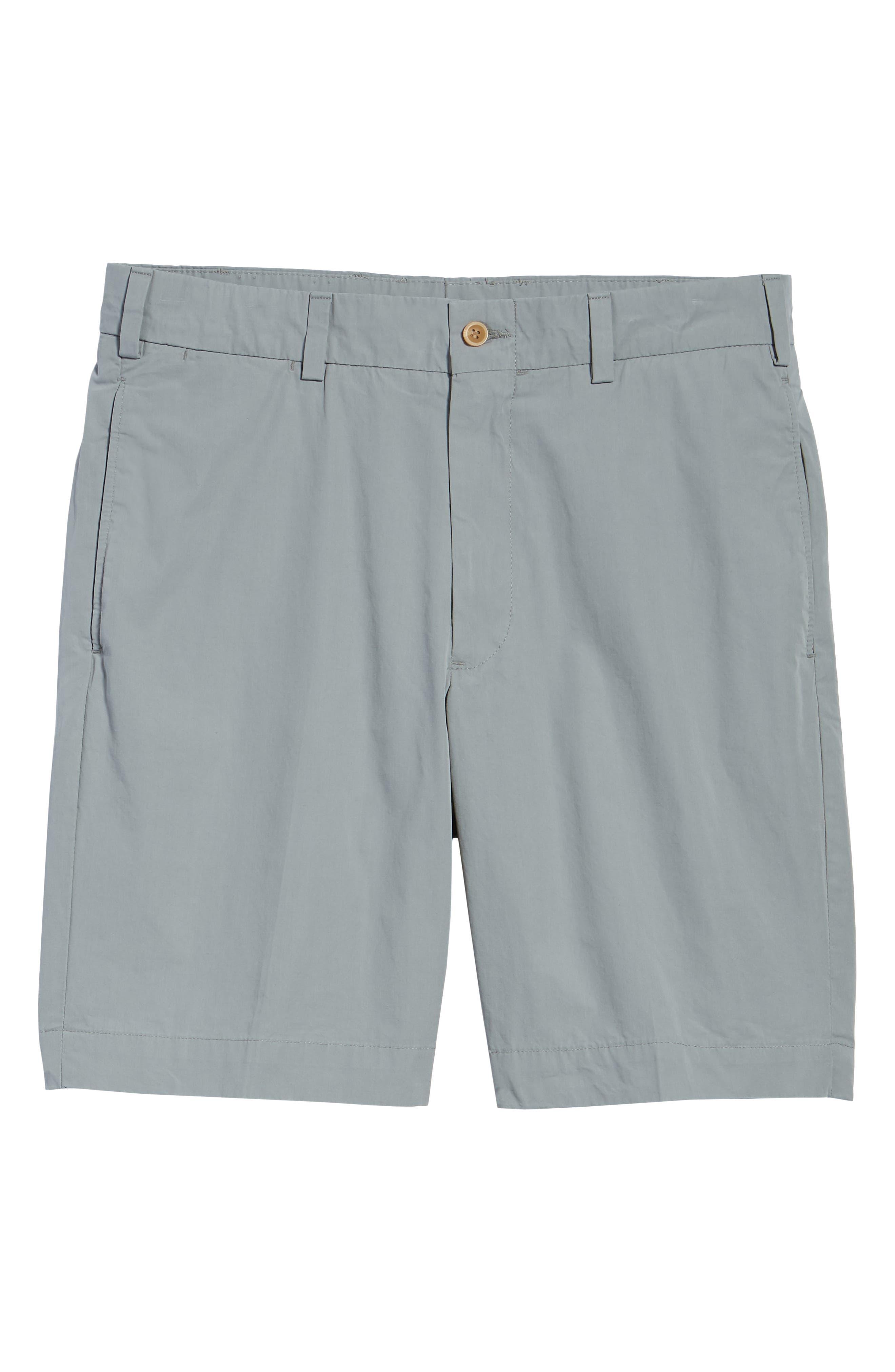 Classic Fit Tropical Poplin Shorts,                             Alternate thumbnail 6, color,                             NICKEL
