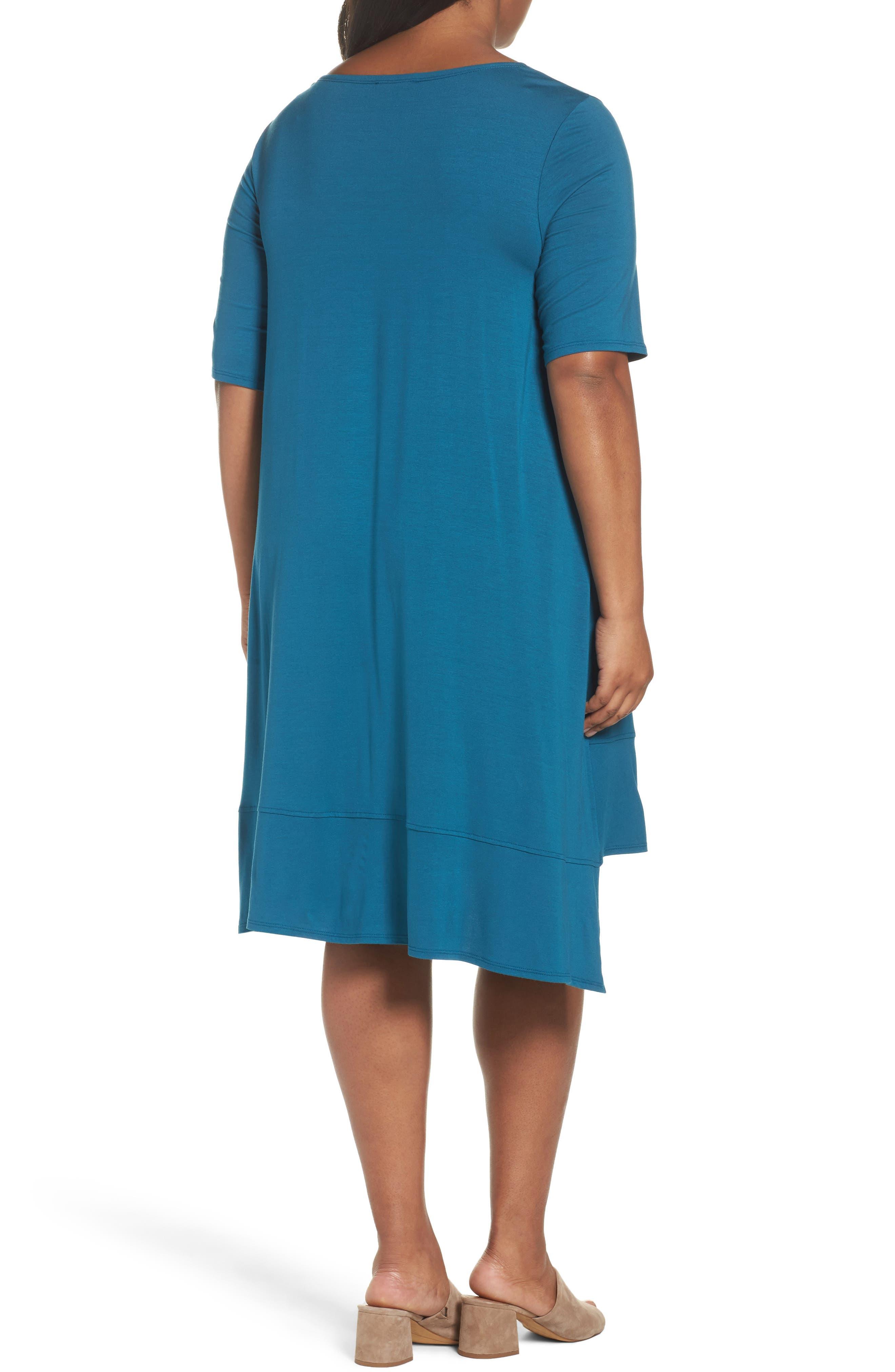Jersey Shift Dress,                             Alternate thumbnail 7, color,
