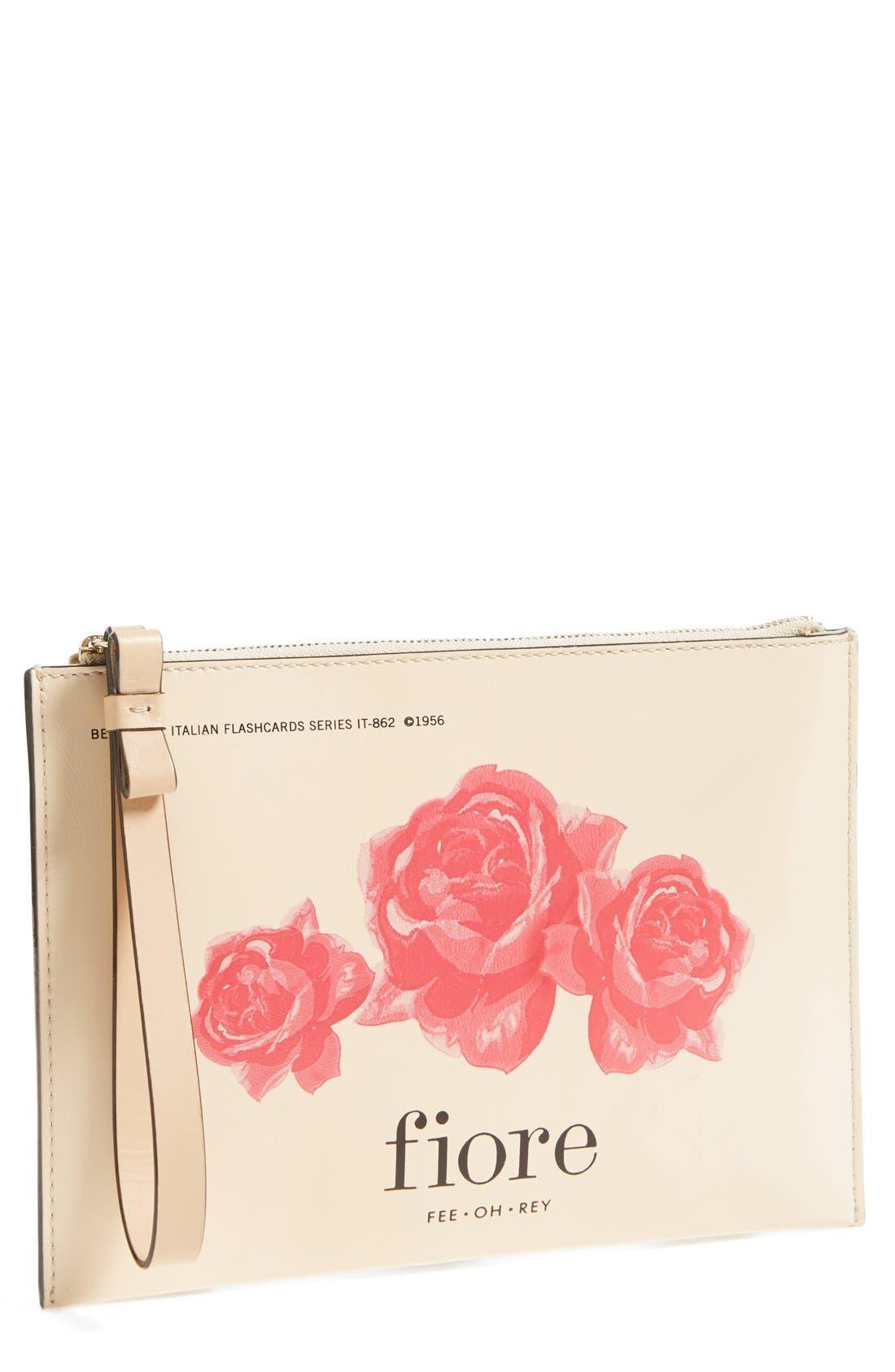 KATE SPADE NEW YORK,                             'medium via limoni bella' wristlet,                             Main thumbnail 1, color,                             250