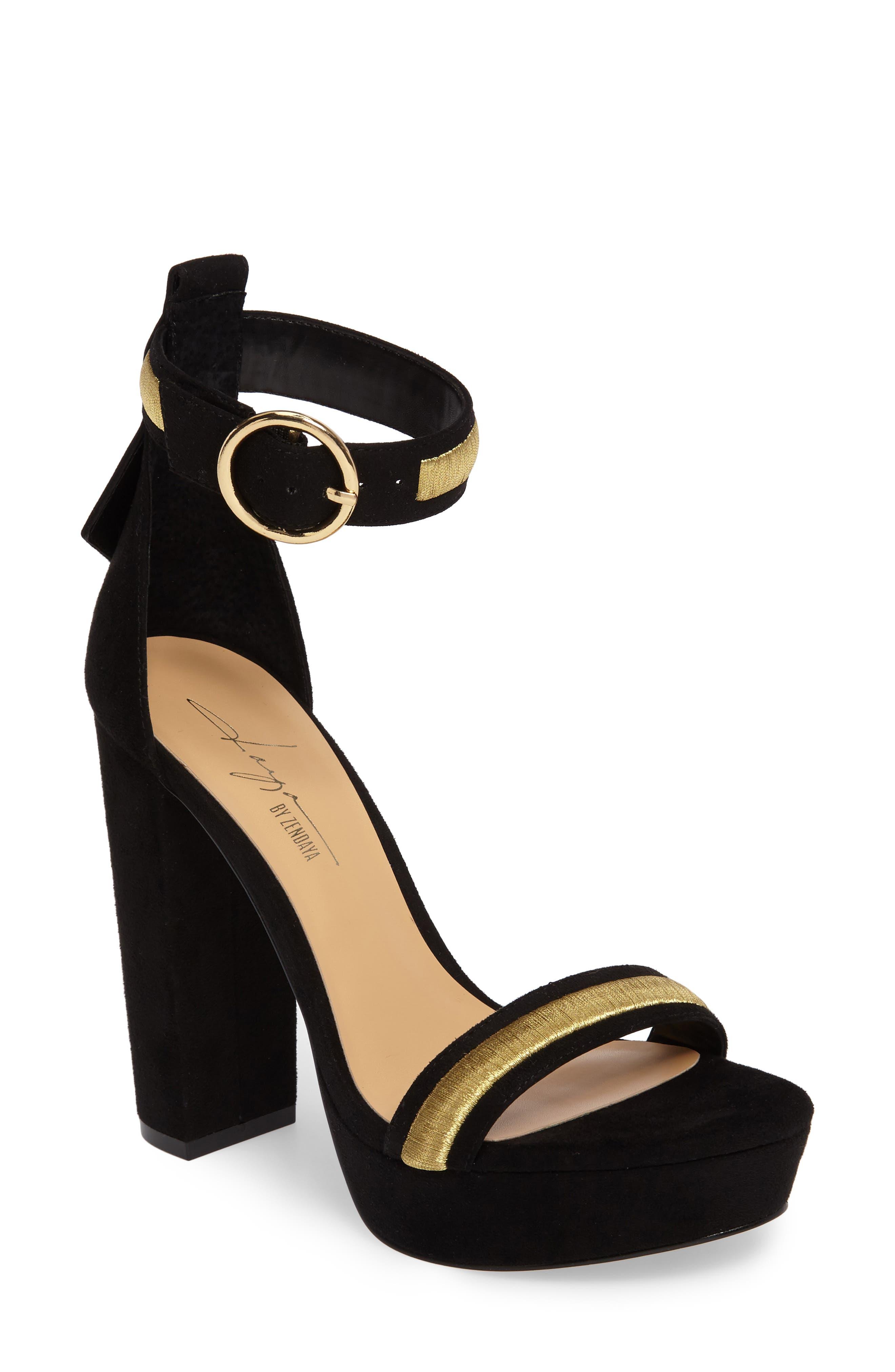 by Zendaya Norah Tall Platform Sandal,                         Main,                         color, 005