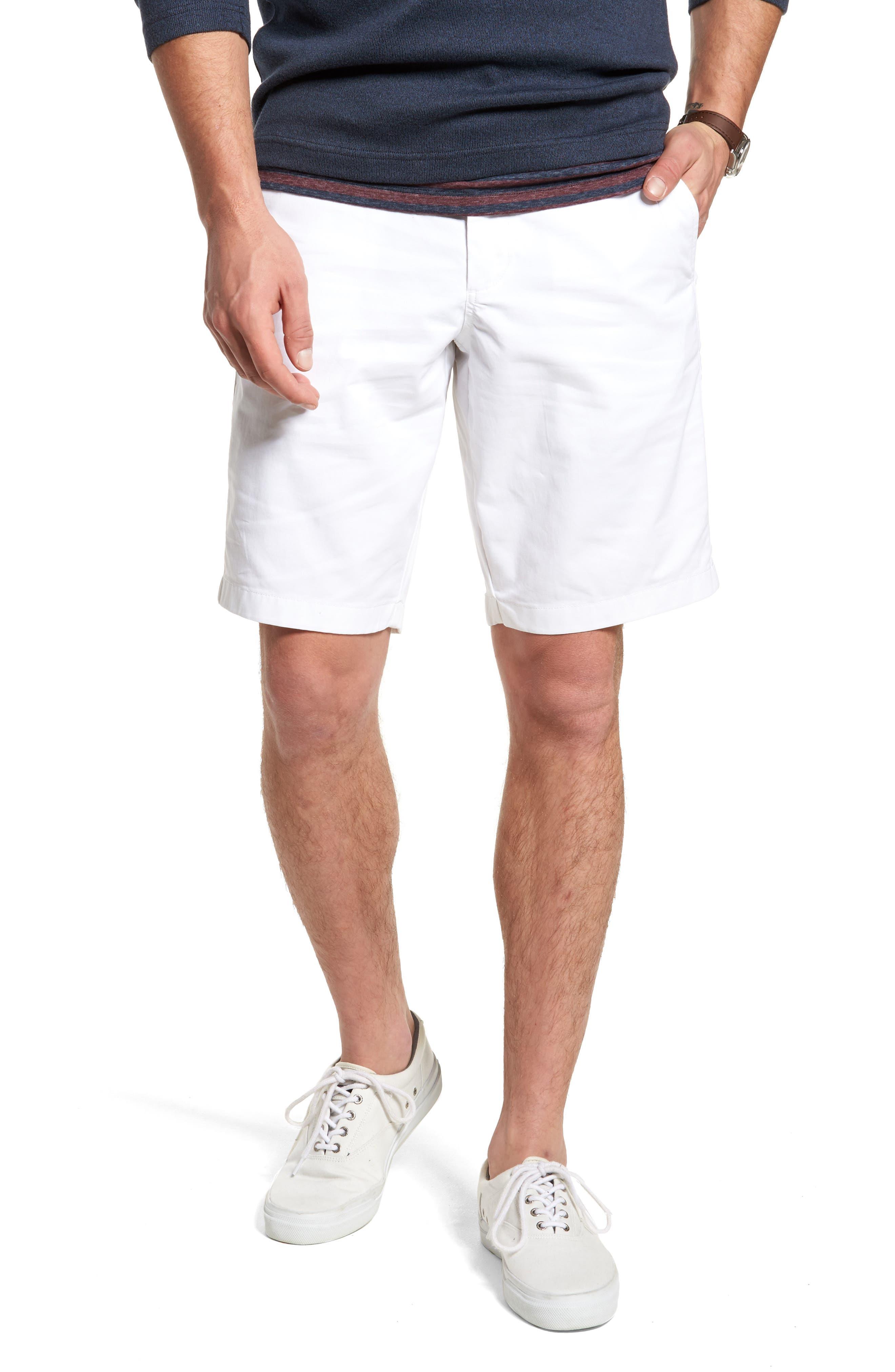 Ballard Slim Fit Stretch Chino 11-Inch Shorts,                             Main thumbnail 3, color,
