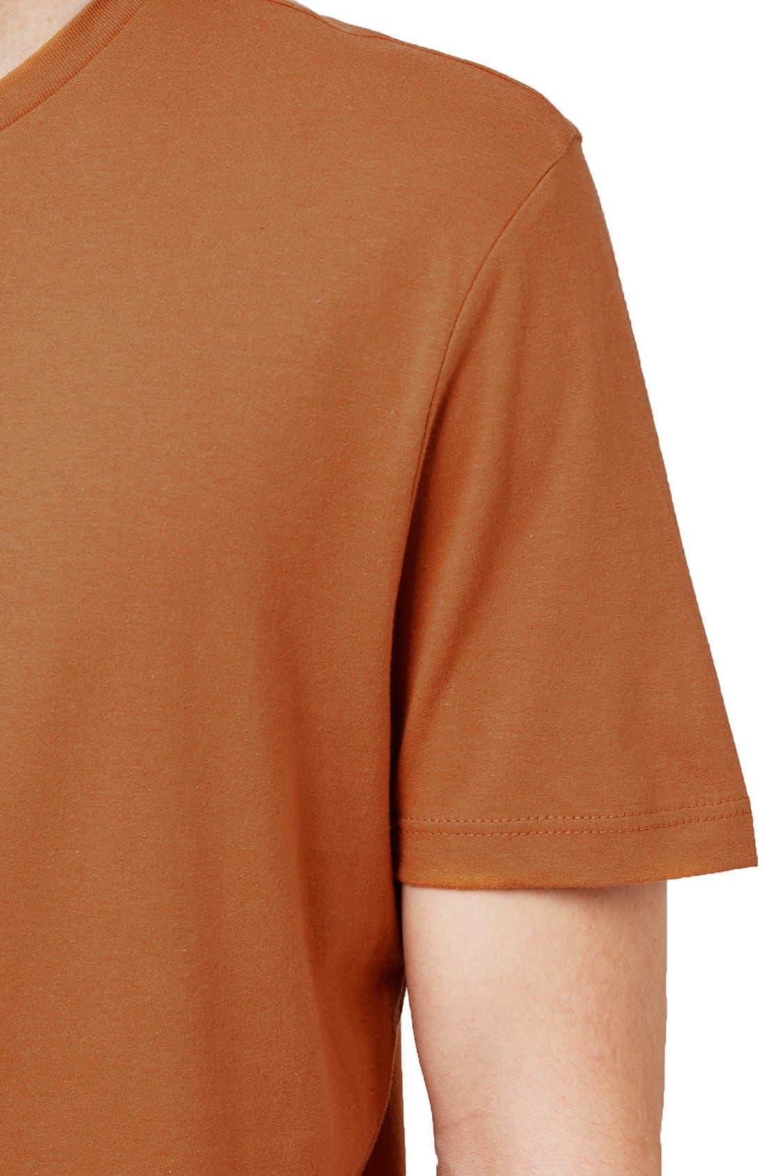 Slim Fit Crewneck T-Shirt,                             Alternate thumbnail 232, color,