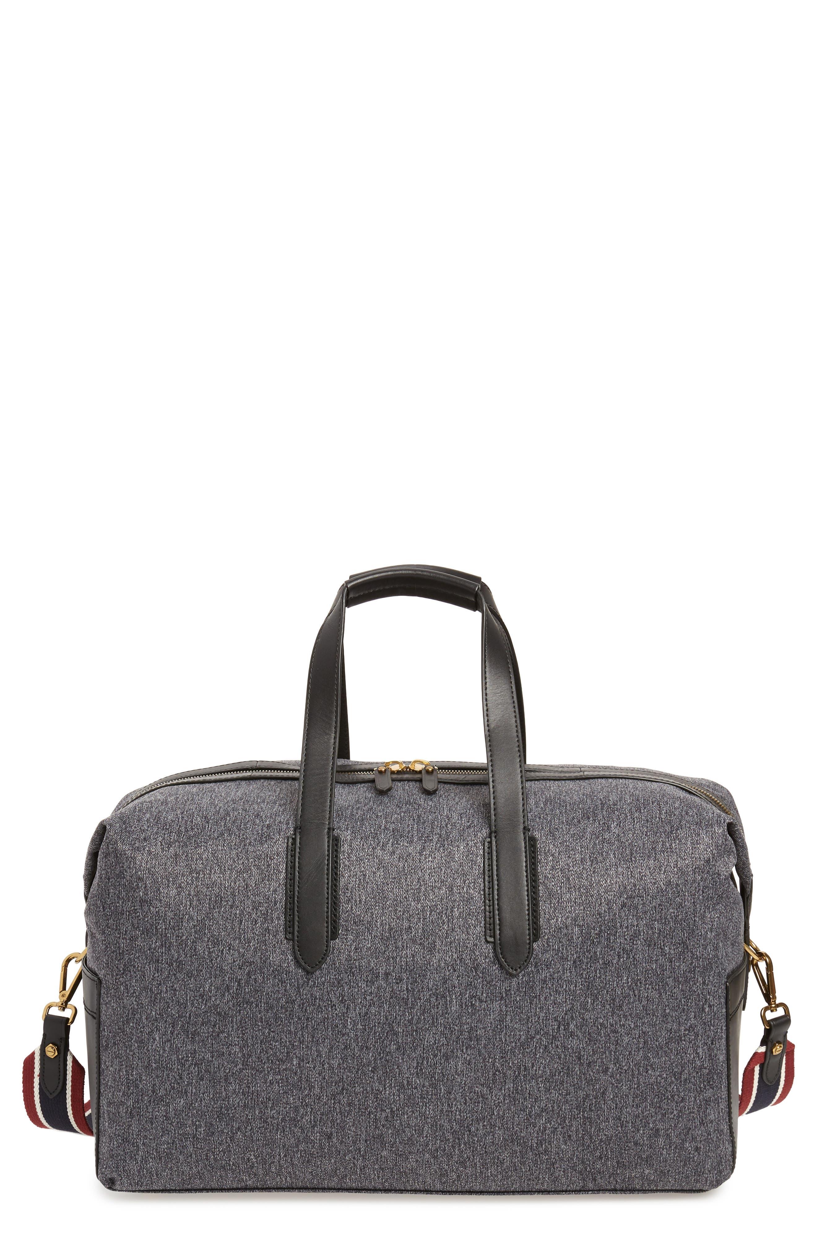 Oar Stripe Weekend Bag,                         Main,                         color, 001