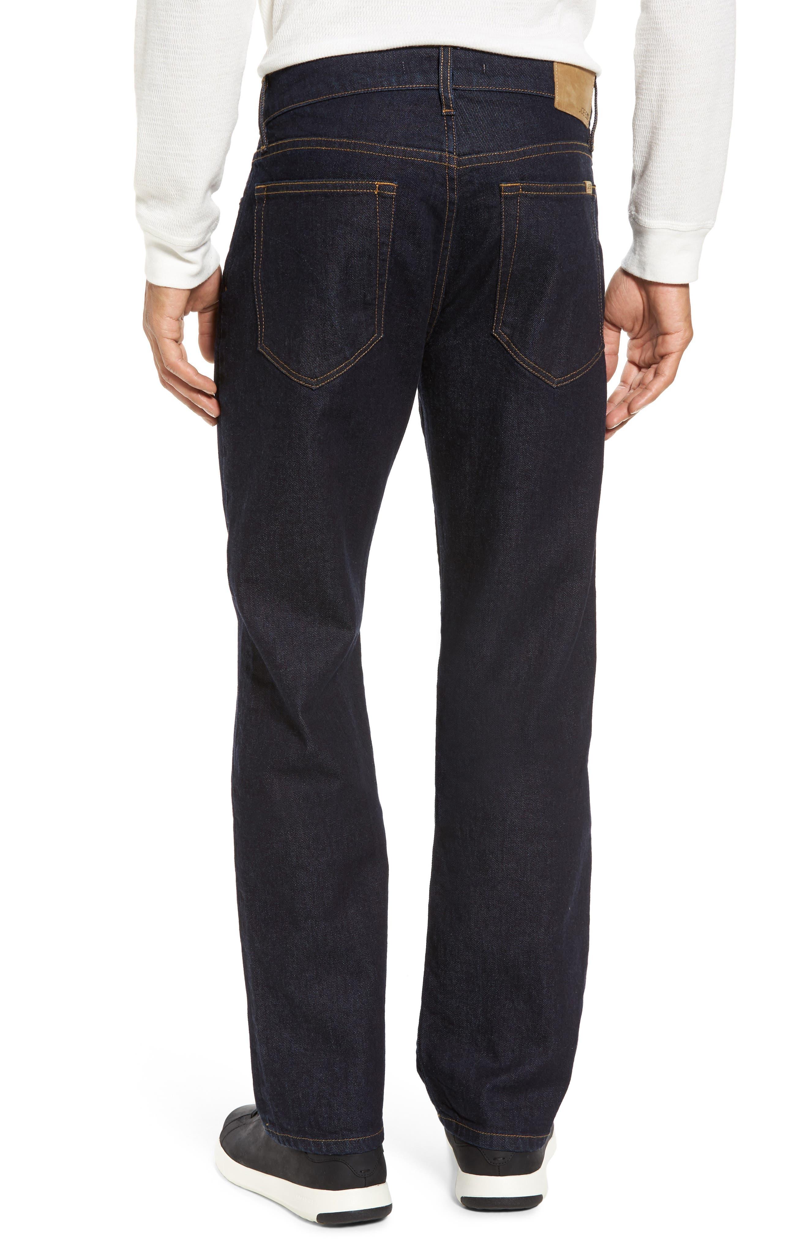 Brixton Slim Straight Leg Jeans,                             Alternate thumbnail 2, color,                             400