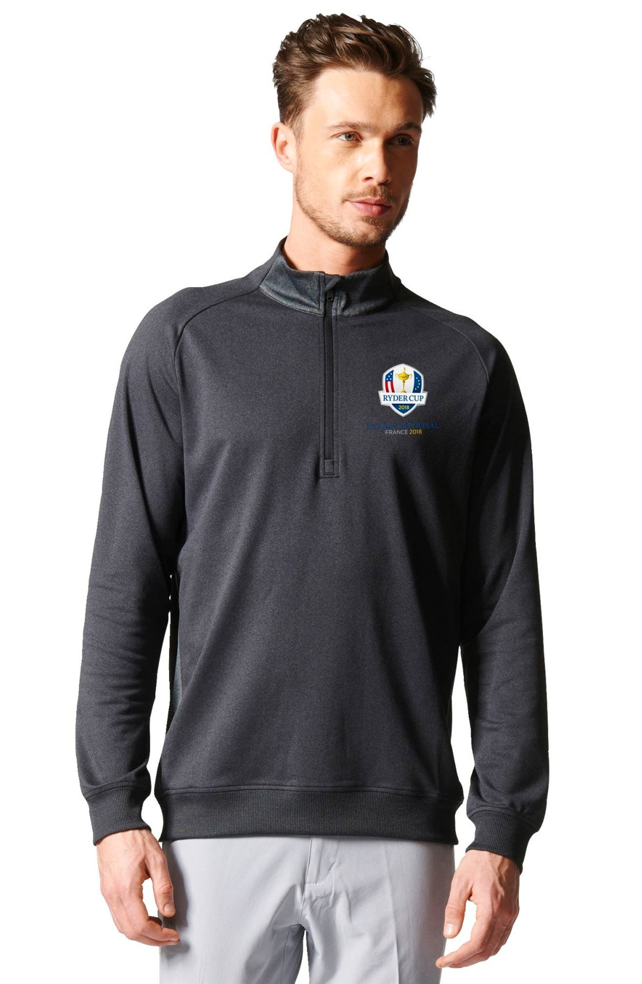 Quarter Zip Gold Pullover,                             Alternate thumbnail 5, color,                             015