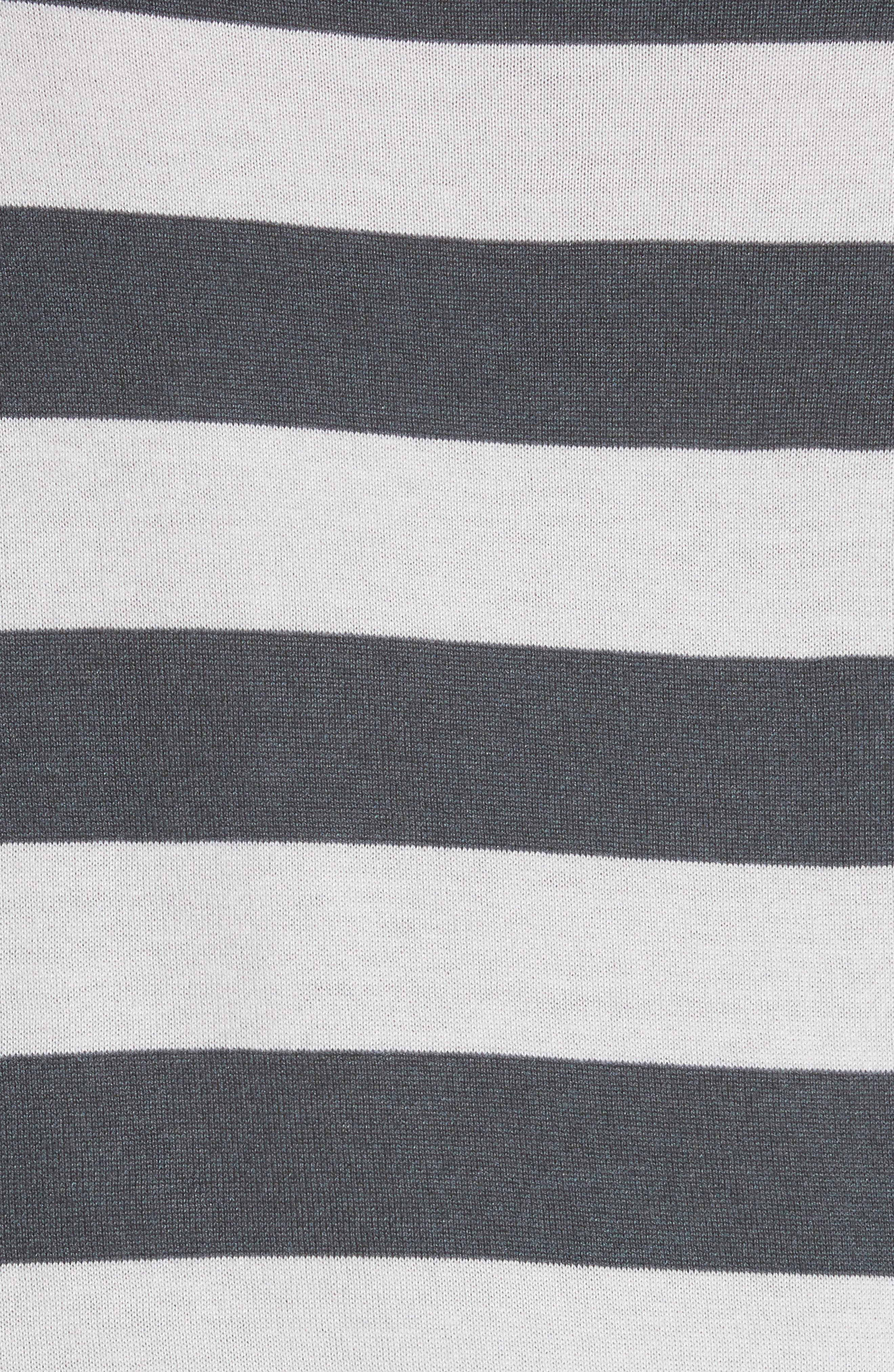 Marica Stripe Silk & Cashmere Sweater,                             Alternate thumbnail 5, color,                             054