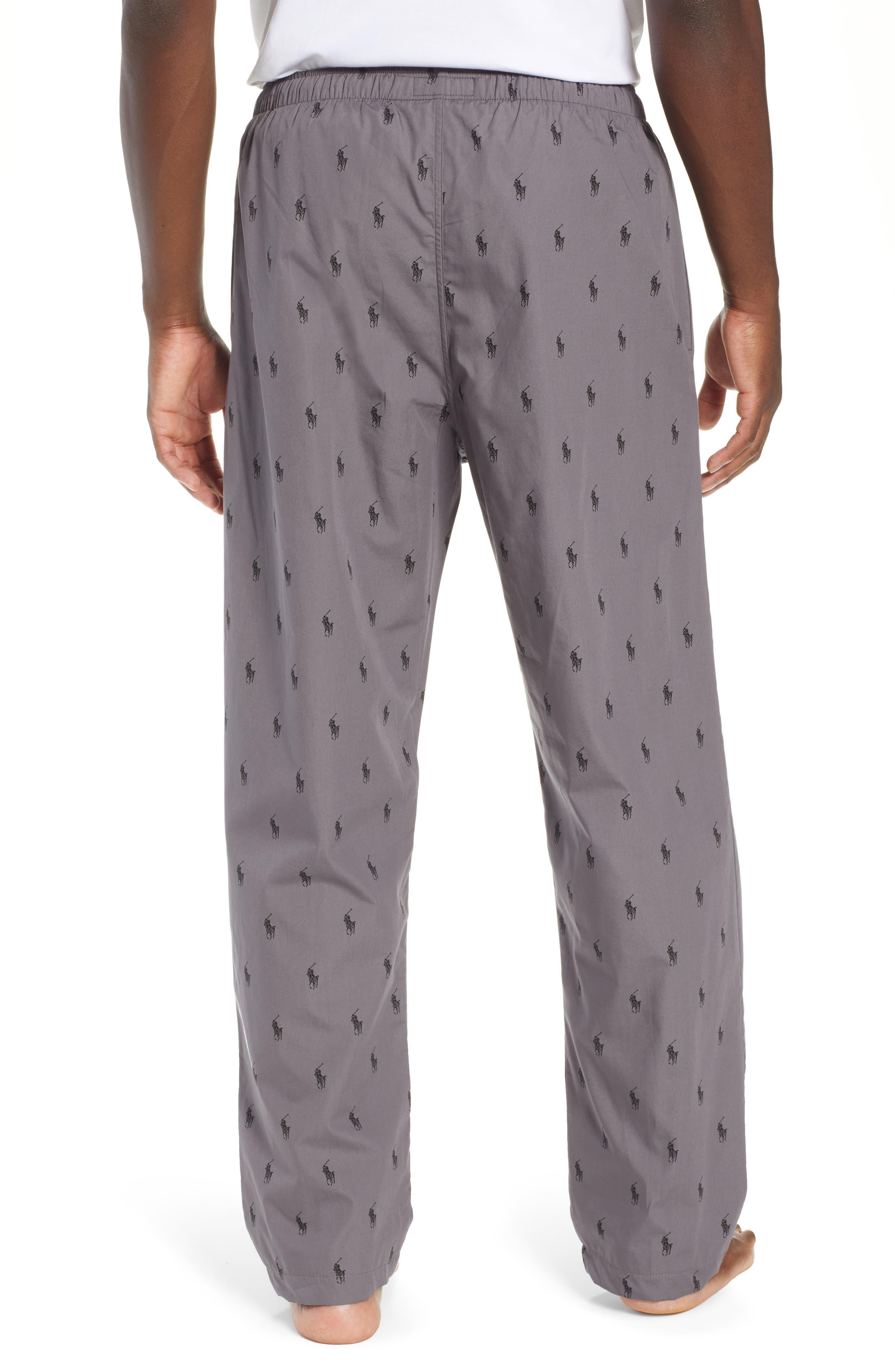 RALPH LAUREN,                             Polo Ralph Lauren Woven Pajama Pants,                             Alternate thumbnail 2, color,                             021