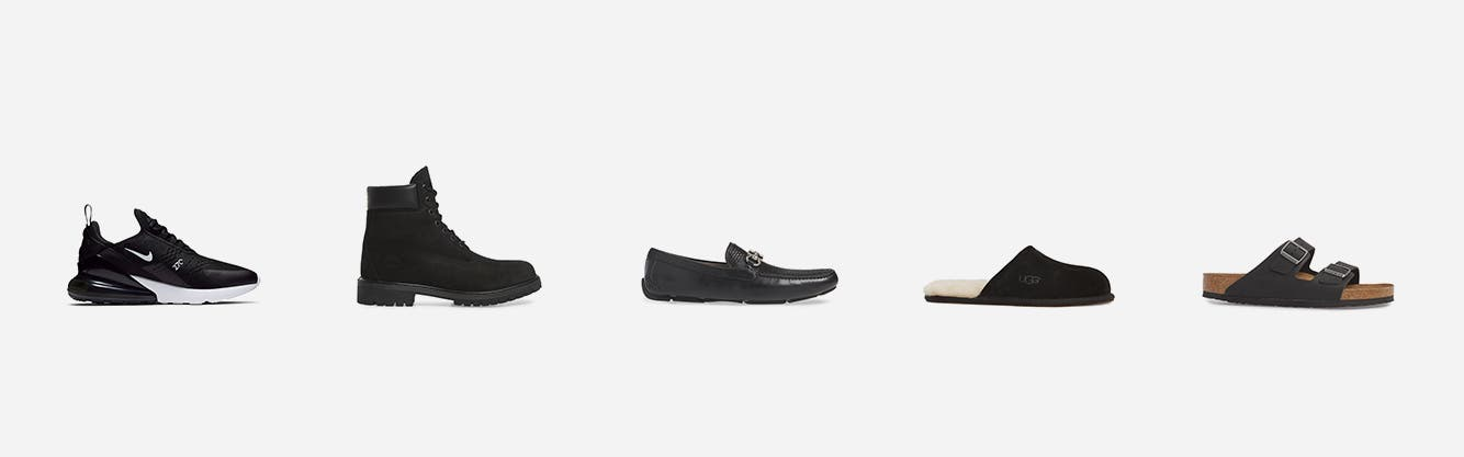 Men's shoes: favorite brands and styles.