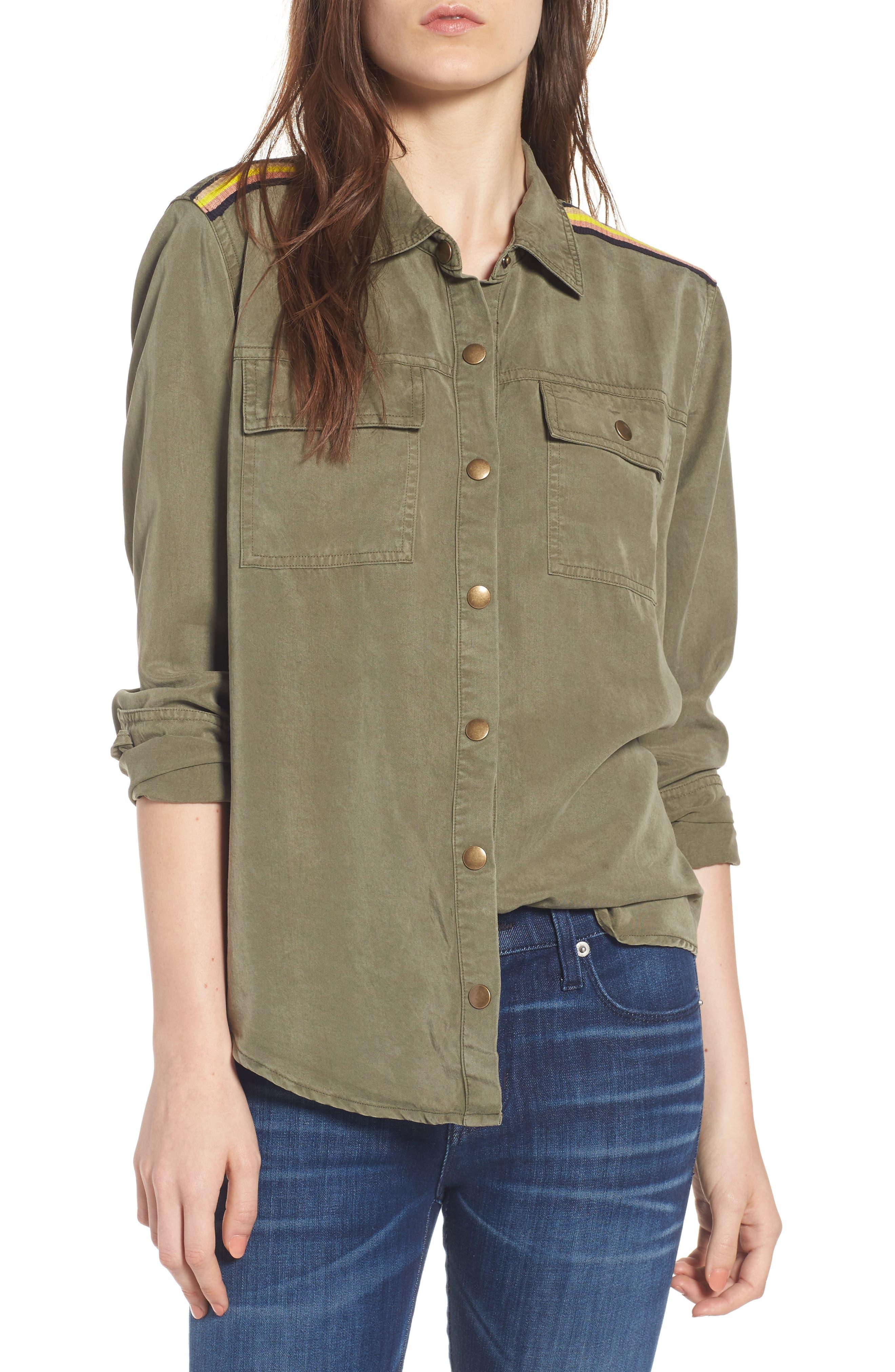 Military Shirt,                         Main,                         color, 300
