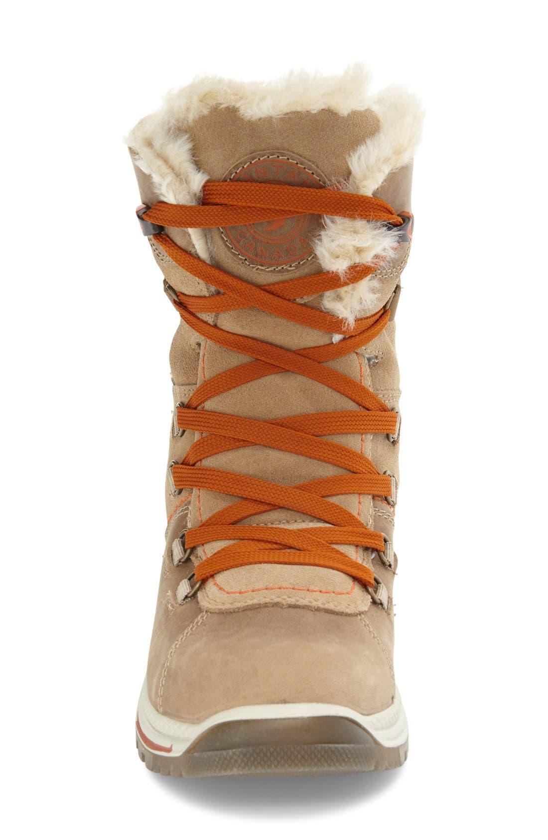 'Majesta' Faux Fur Boot,                             Alternate thumbnail 6, color,