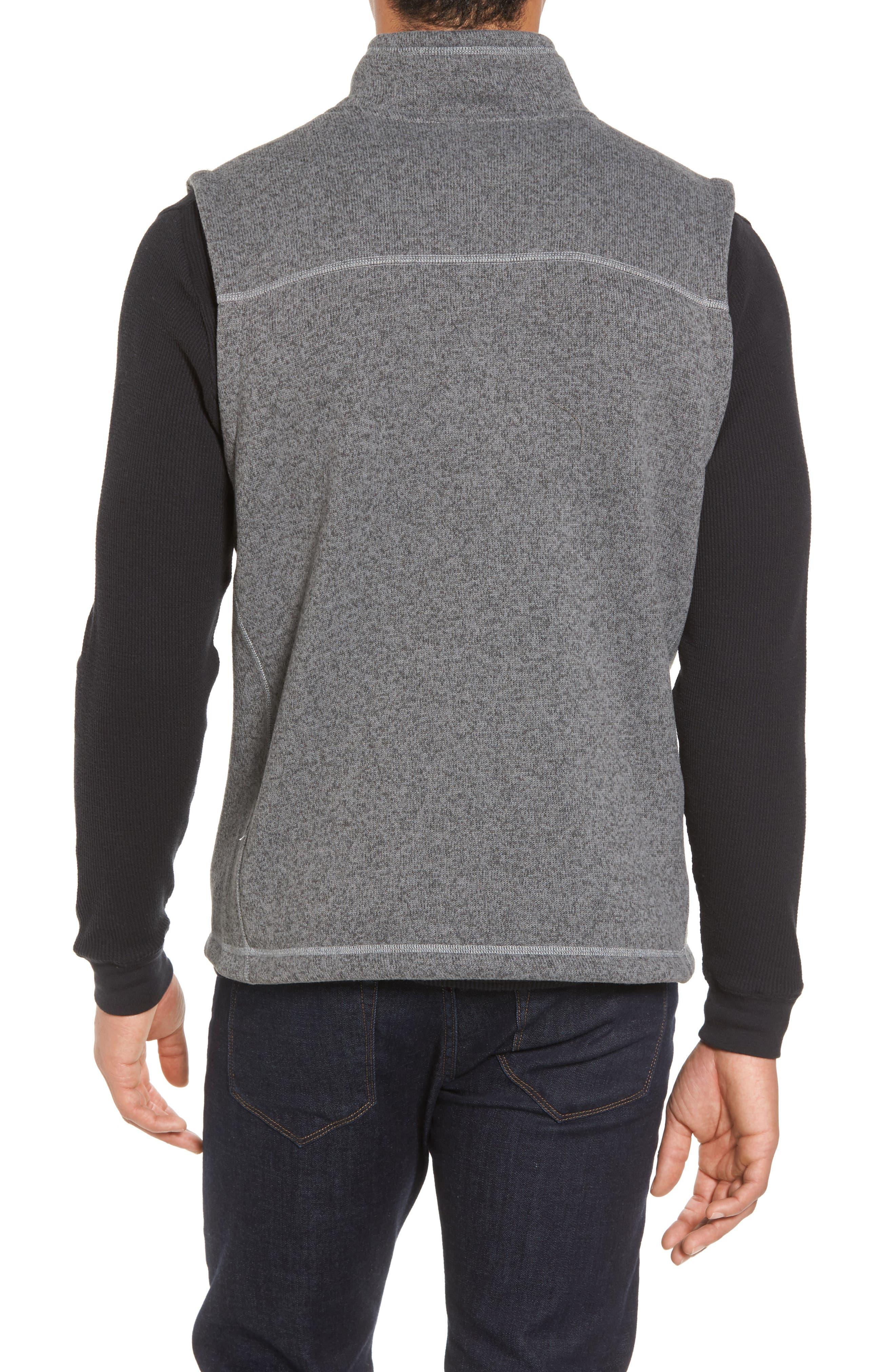 Gordon Lyons Zip Fleece Vest,                             Alternate thumbnail 7, color,
