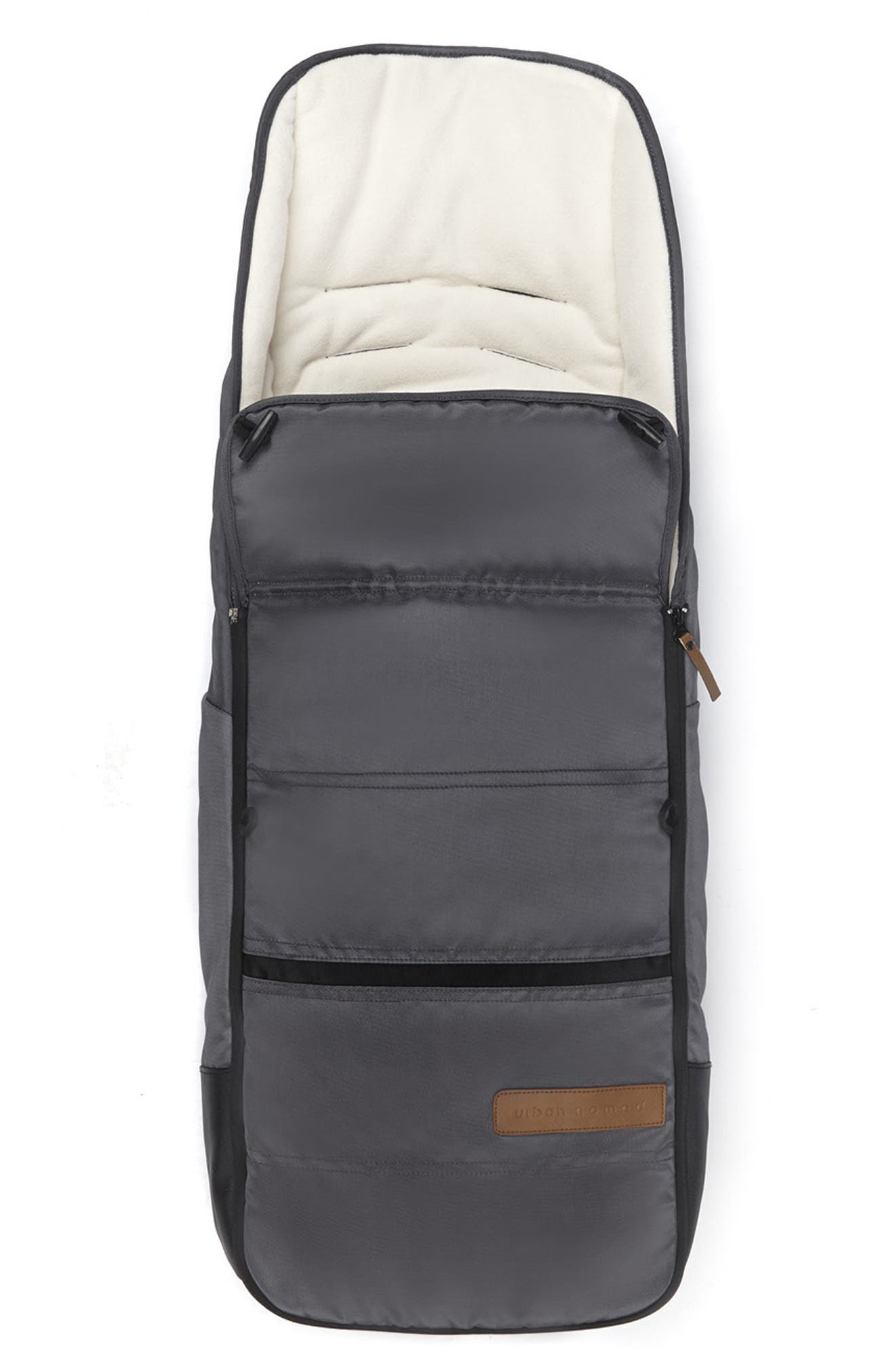 'Evo - Urban Nomad' Water Resistant Footmuff,                             Alternate thumbnail 2, color,                             DARK GREY