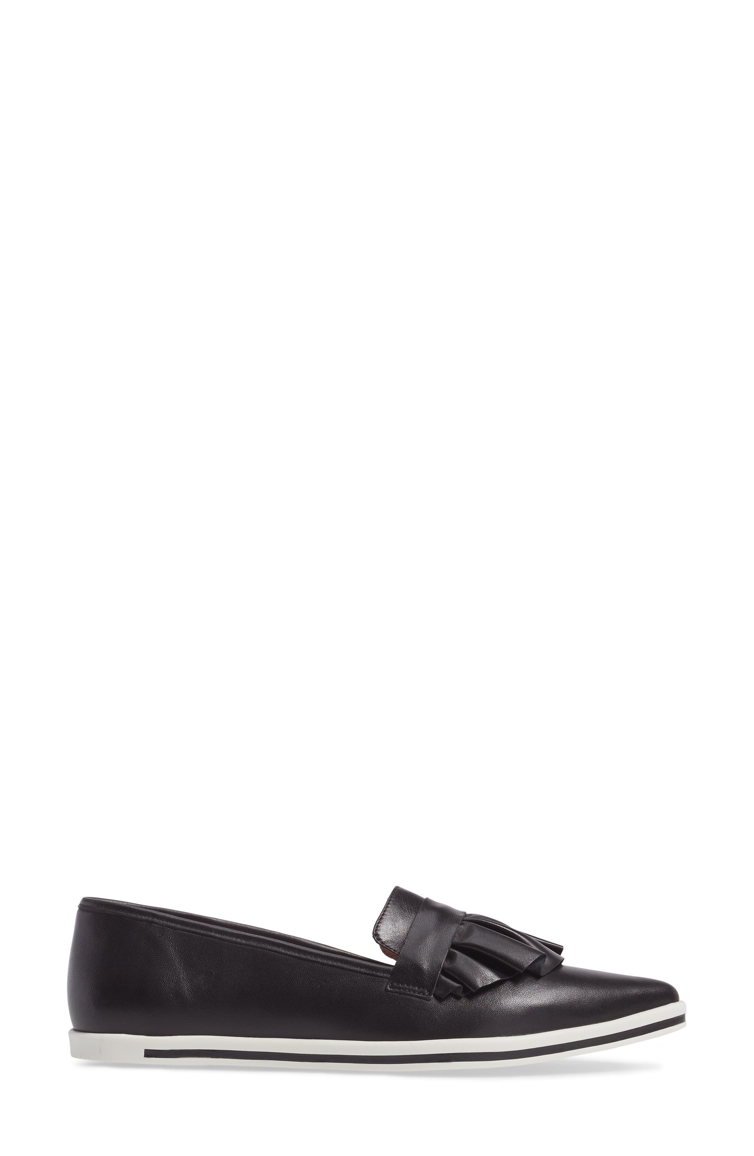 Taraji Ruffle Slip-On Sneaker,                             Alternate thumbnail 9, color,