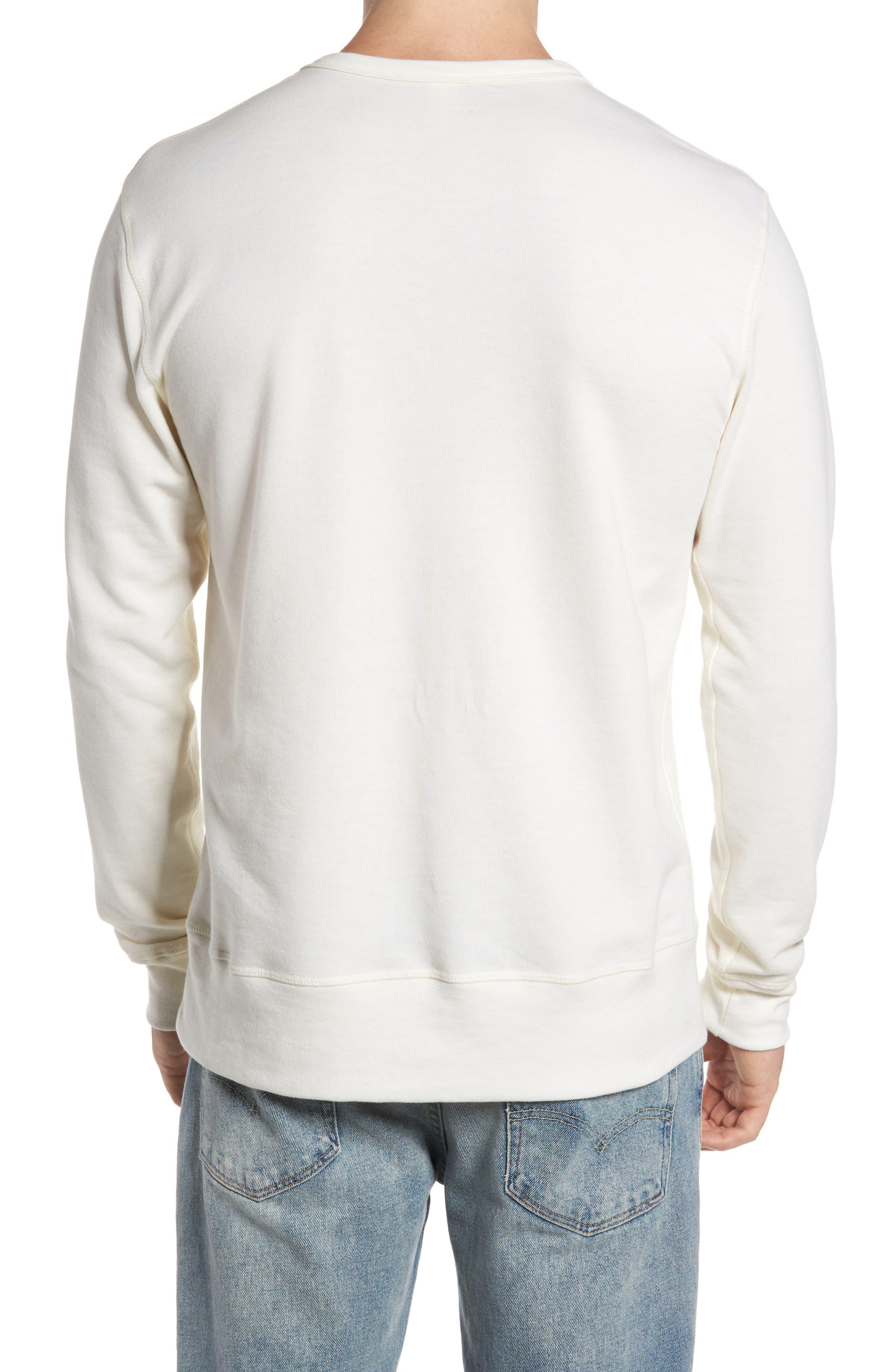 B-Side Reversible Crewneck Sweatshirt,                             Alternate thumbnail 10, color,