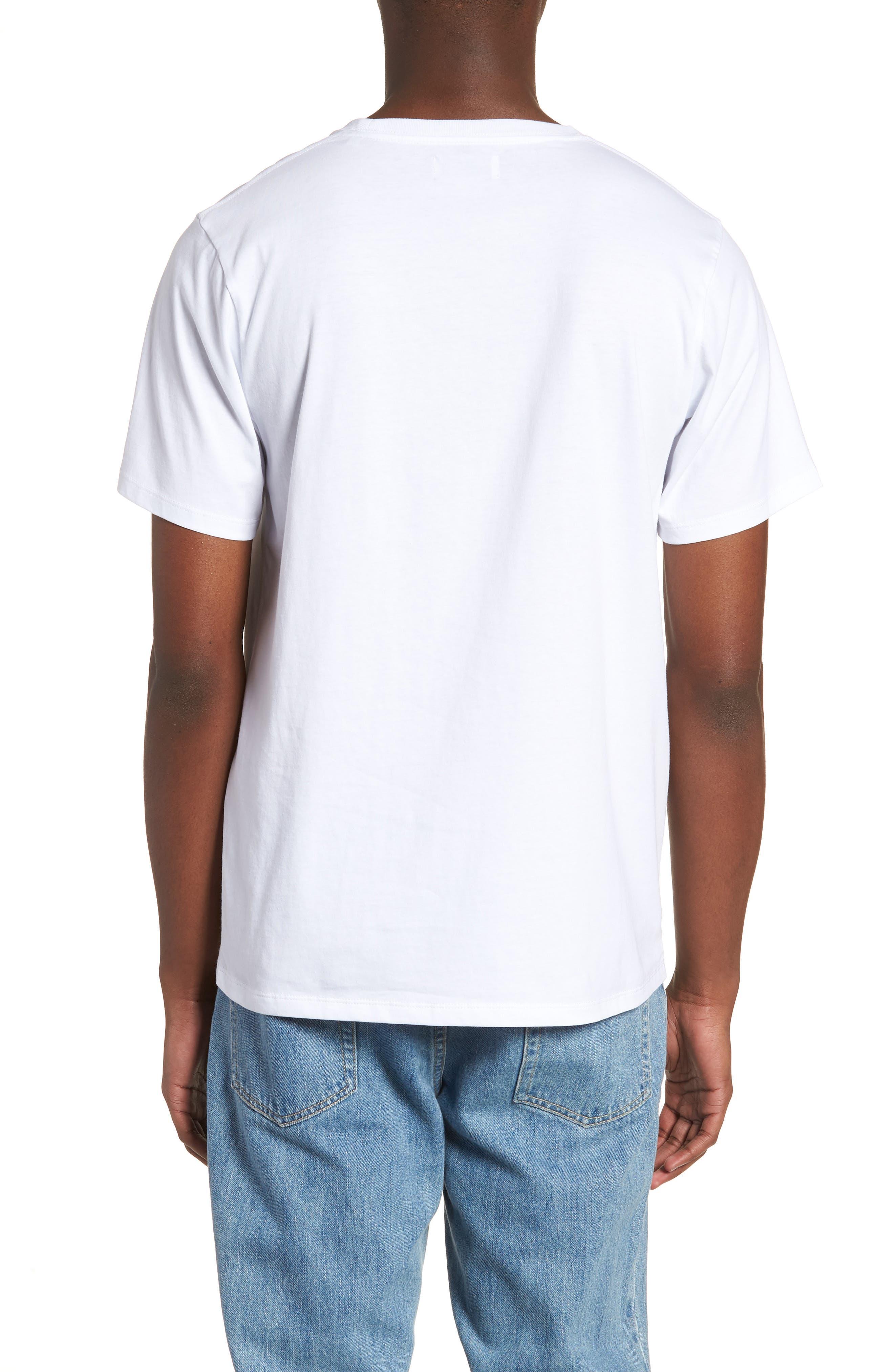 Monstera Block T-Shirt,                             Alternate thumbnail 2, color,                             110