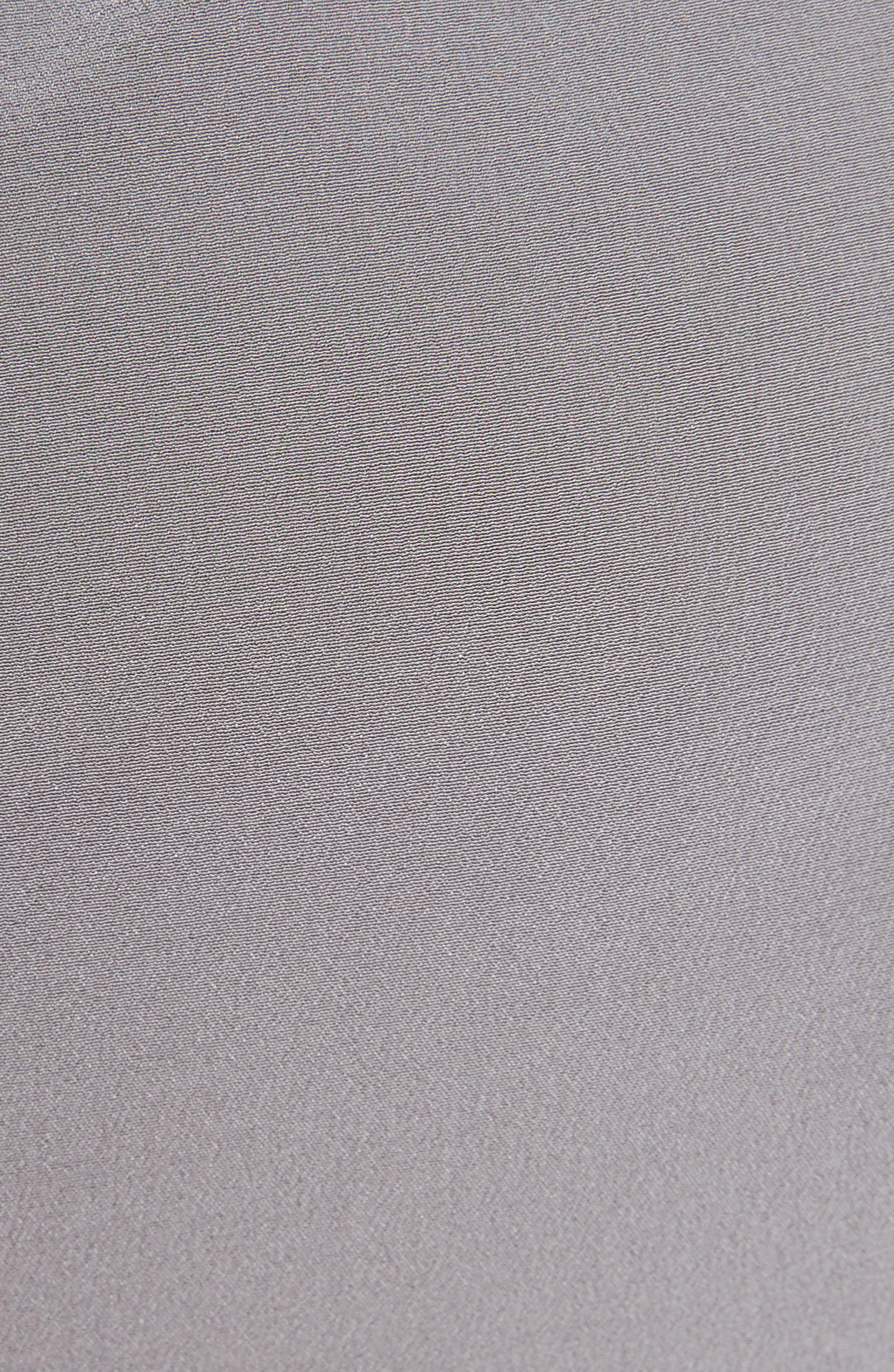 Split Back Silk Skirt,                             Alternate thumbnail 5, color,                             020