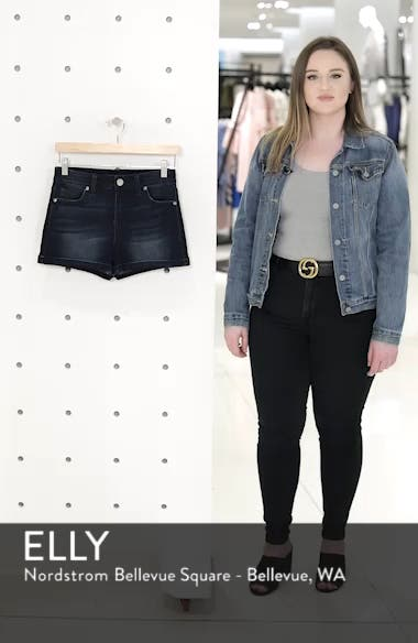 Cuffed Denim Shorts, sales video thumbnail