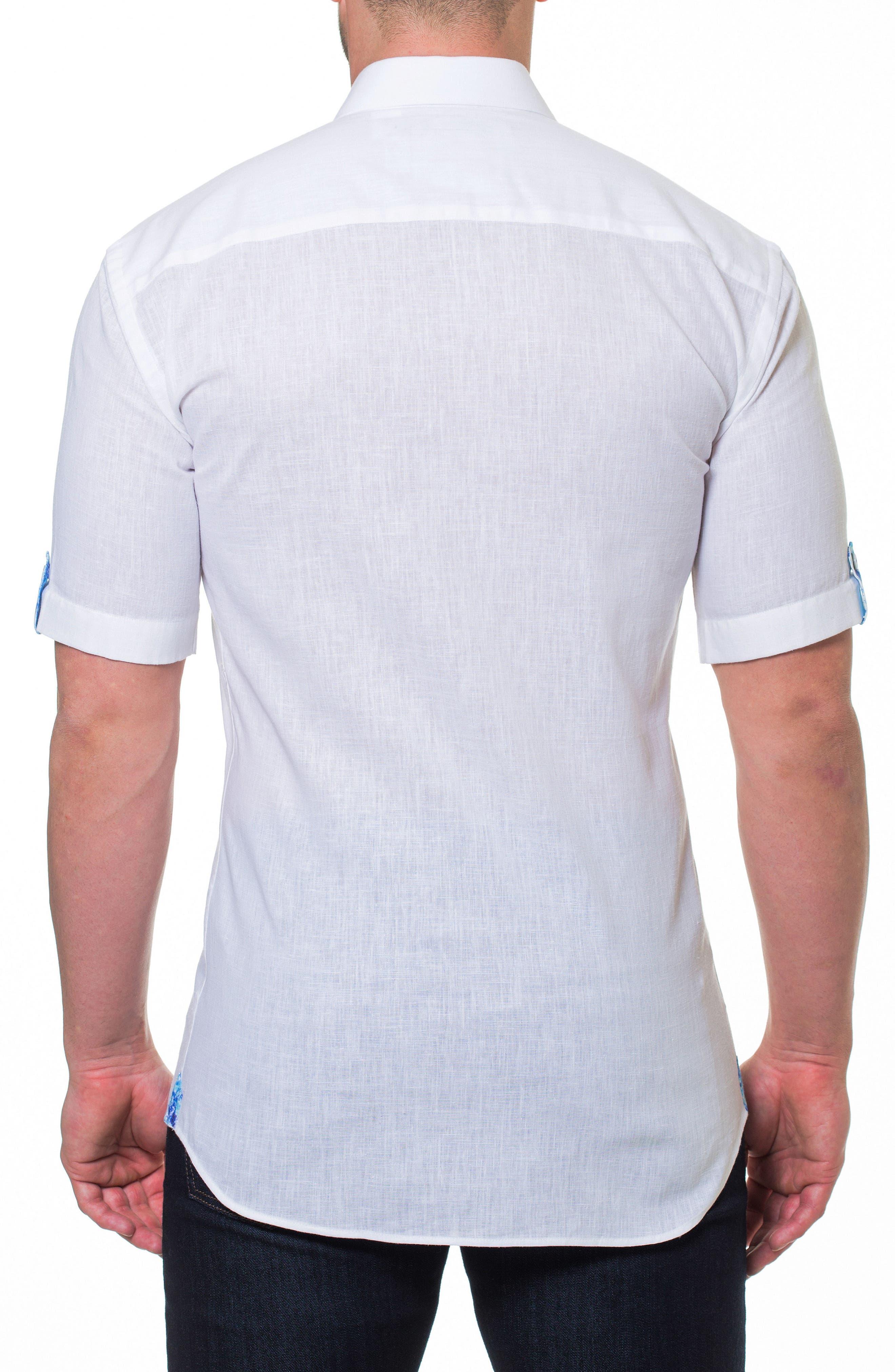 Fresh Powder Slim Fit Sport Shirt,                             Alternate thumbnail 2, color,