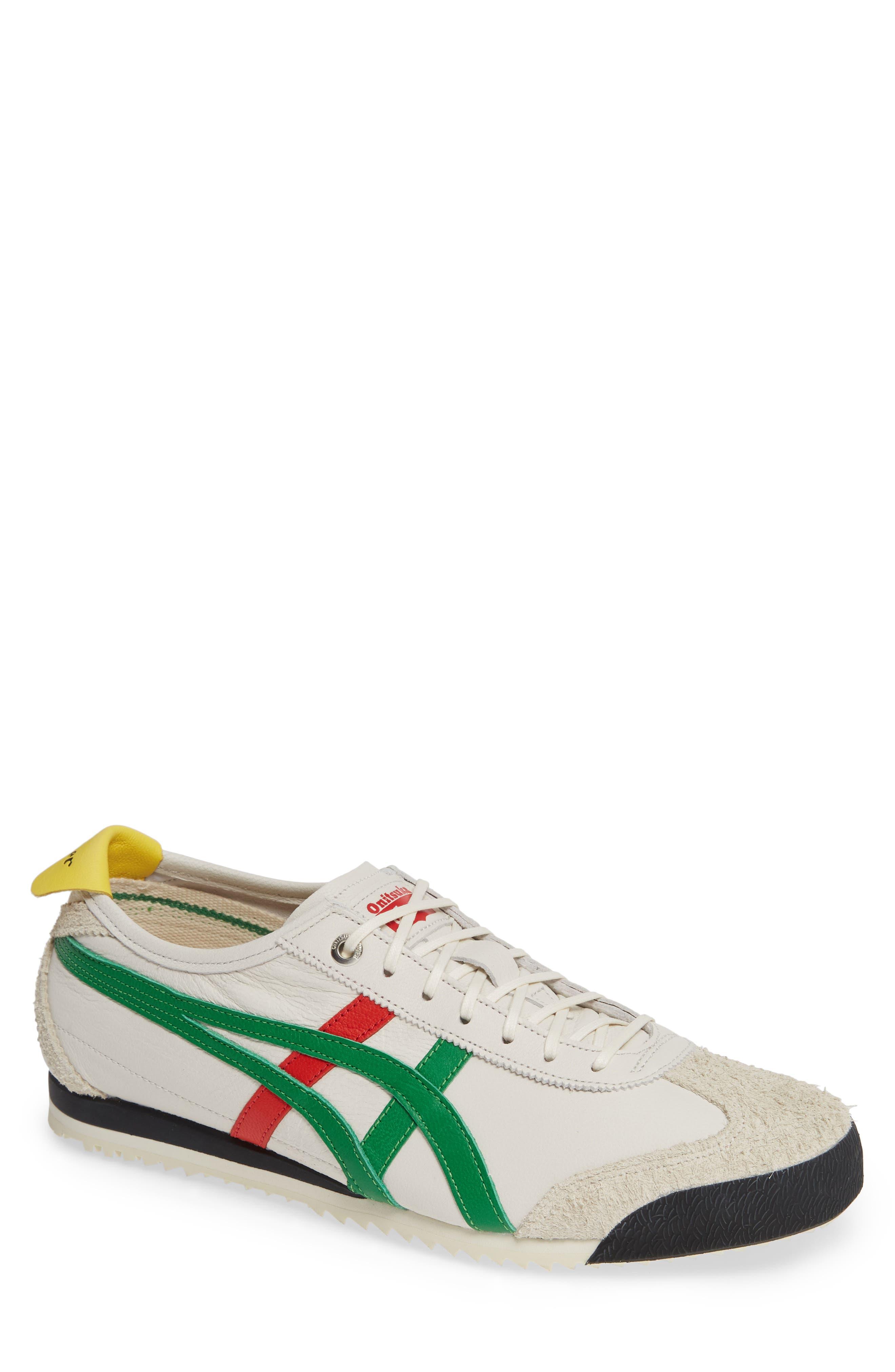 Mexico SD Sneaker,                             Main thumbnail 1, color,                             CREAM/ GREEN