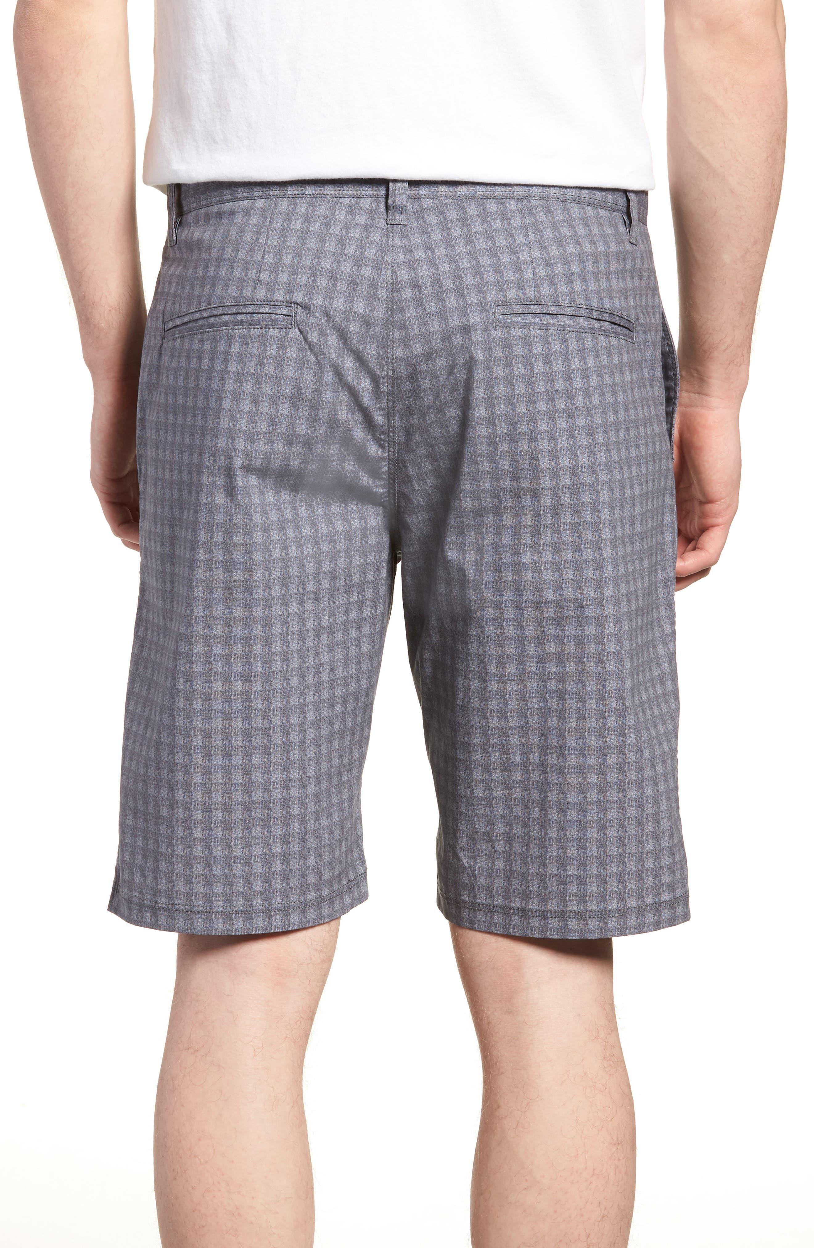 Tristen Check Shorts,                             Alternate thumbnail 2, color,