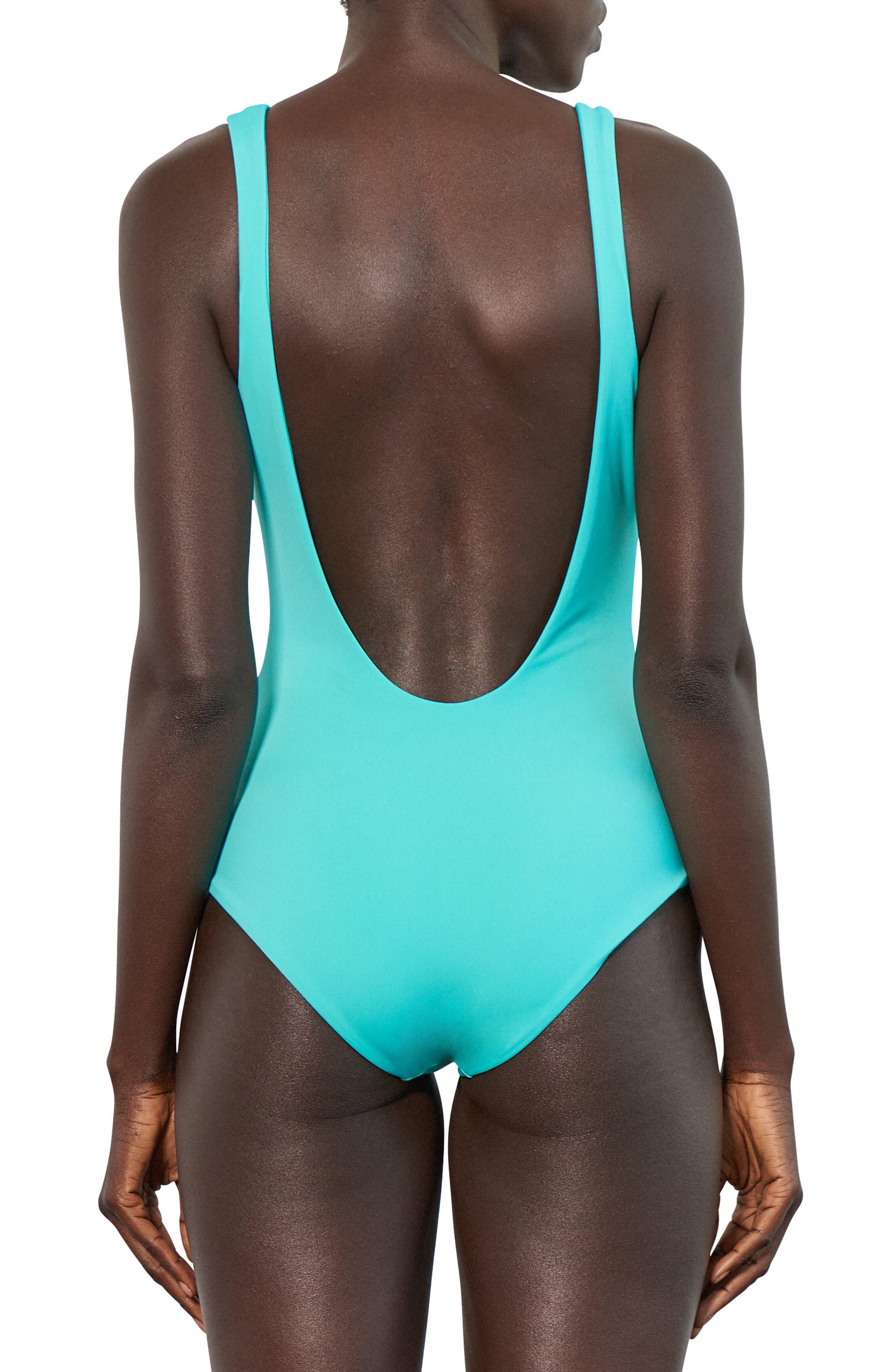 Maven One-Piece Swimsuit,                             Alternate thumbnail 2, color,                             442