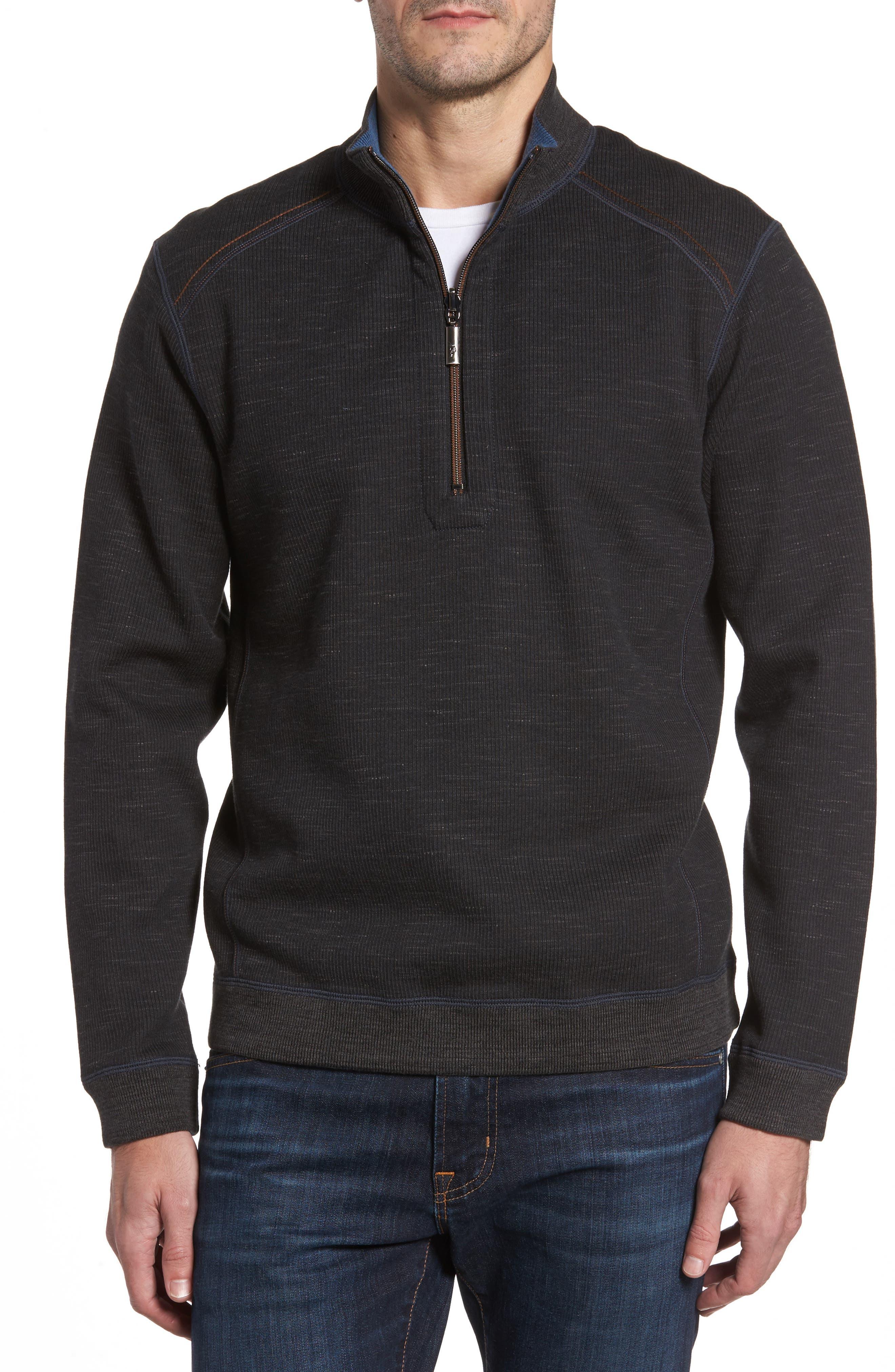 Flipsider Half Zip Reversible Sweatshirt,                             Main thumbnail 1, color,                             003