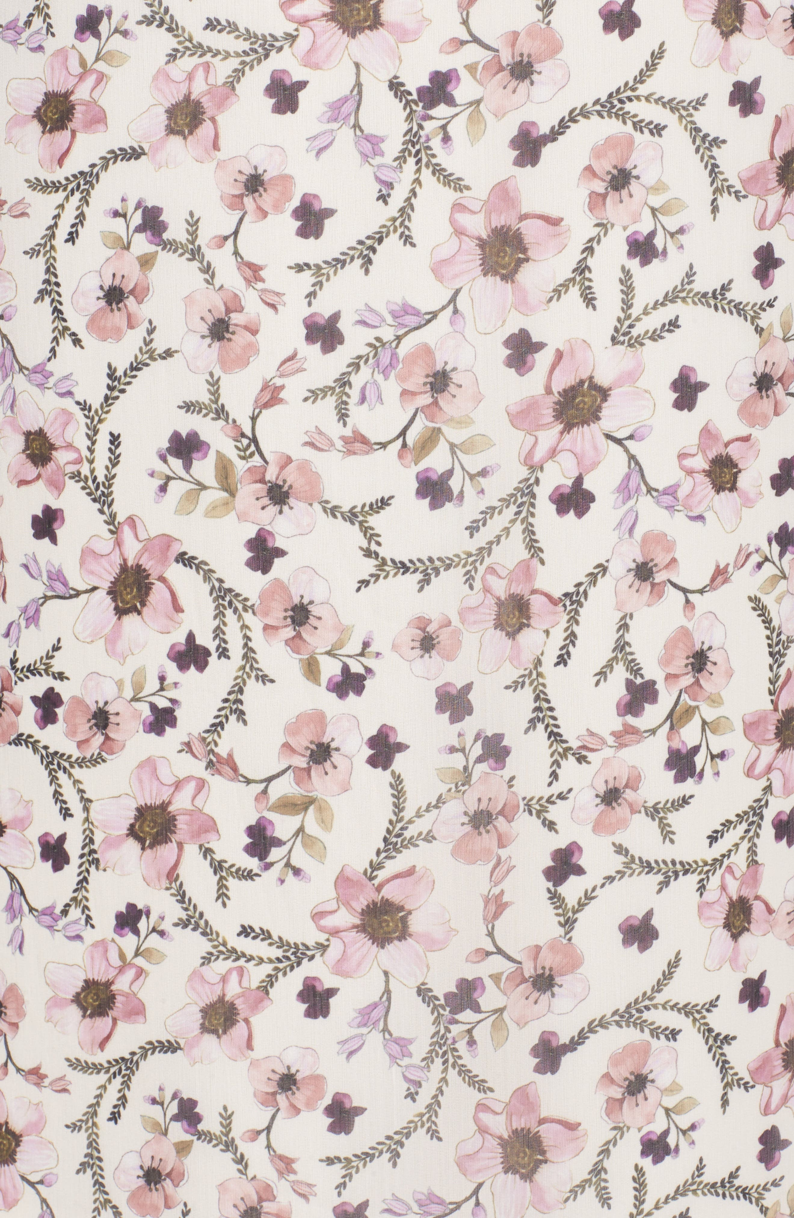 Lace Trim Cold Shoulder Shift Dress,                             Alternate thumbnail 5, color,                             900