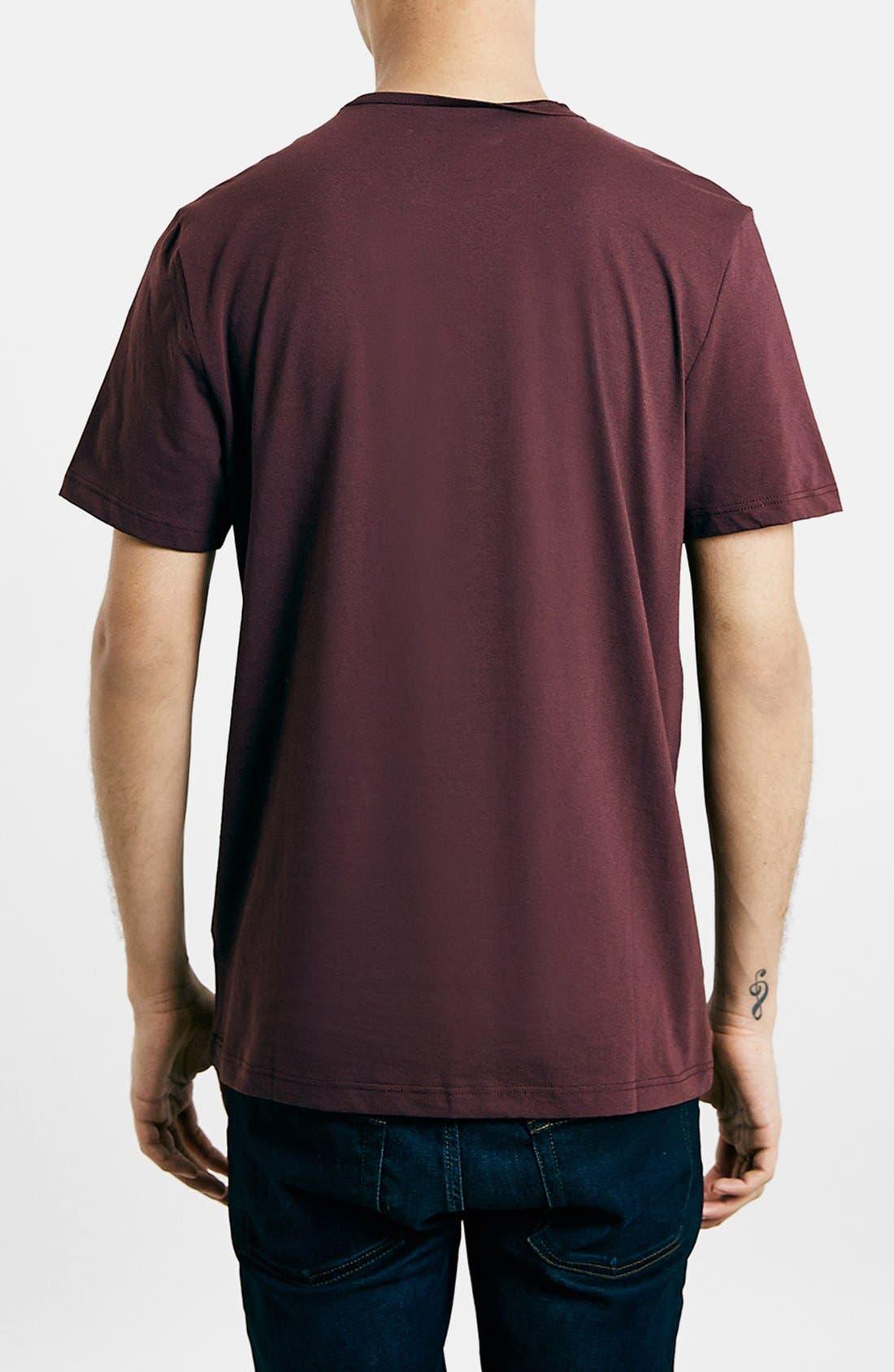 Slim Fit Crewneck T-Shirt,                             Alternate thumbnail 379, color,