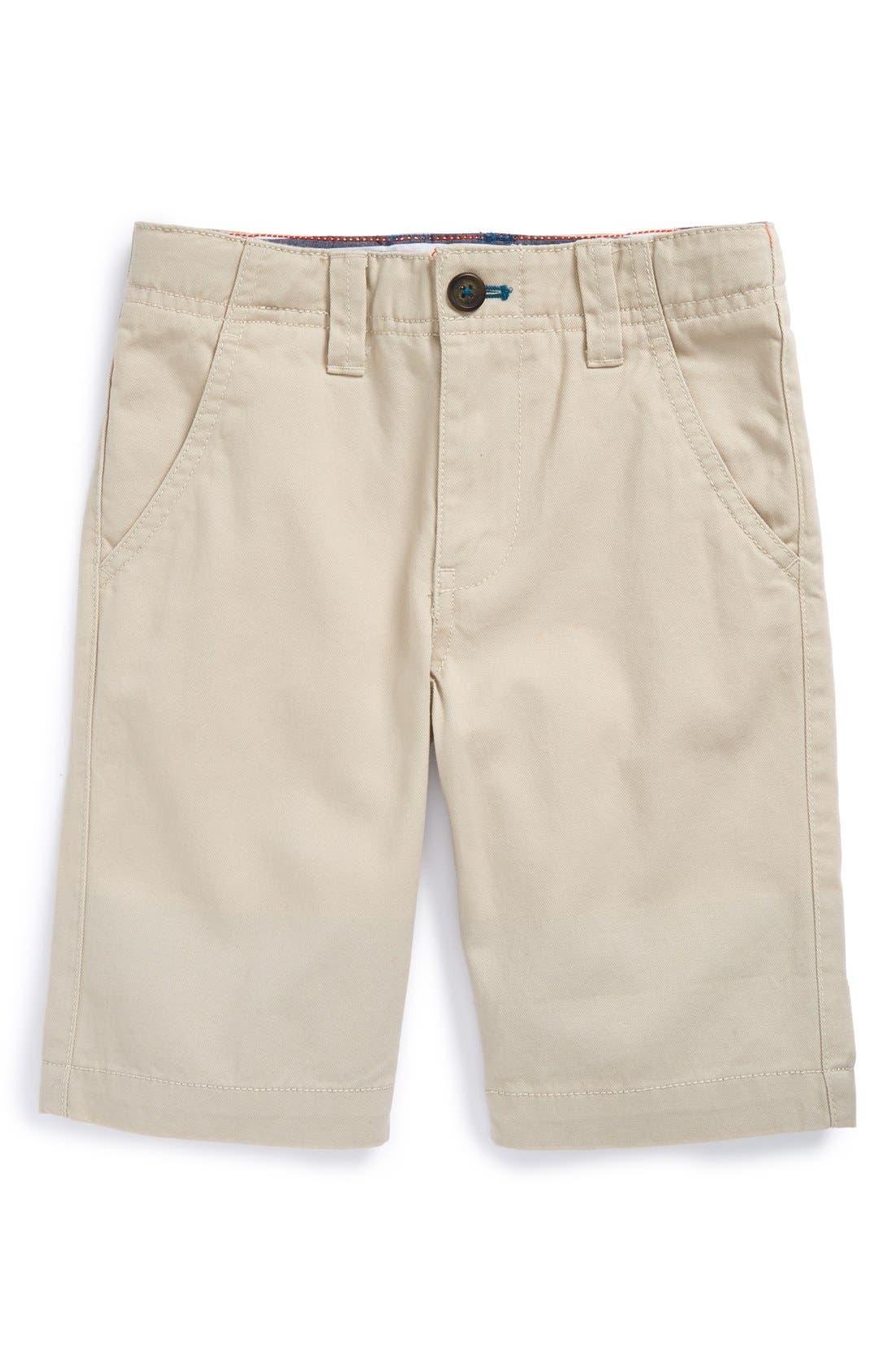 Cotton Chino Shorts,                         Main,                         color, 026