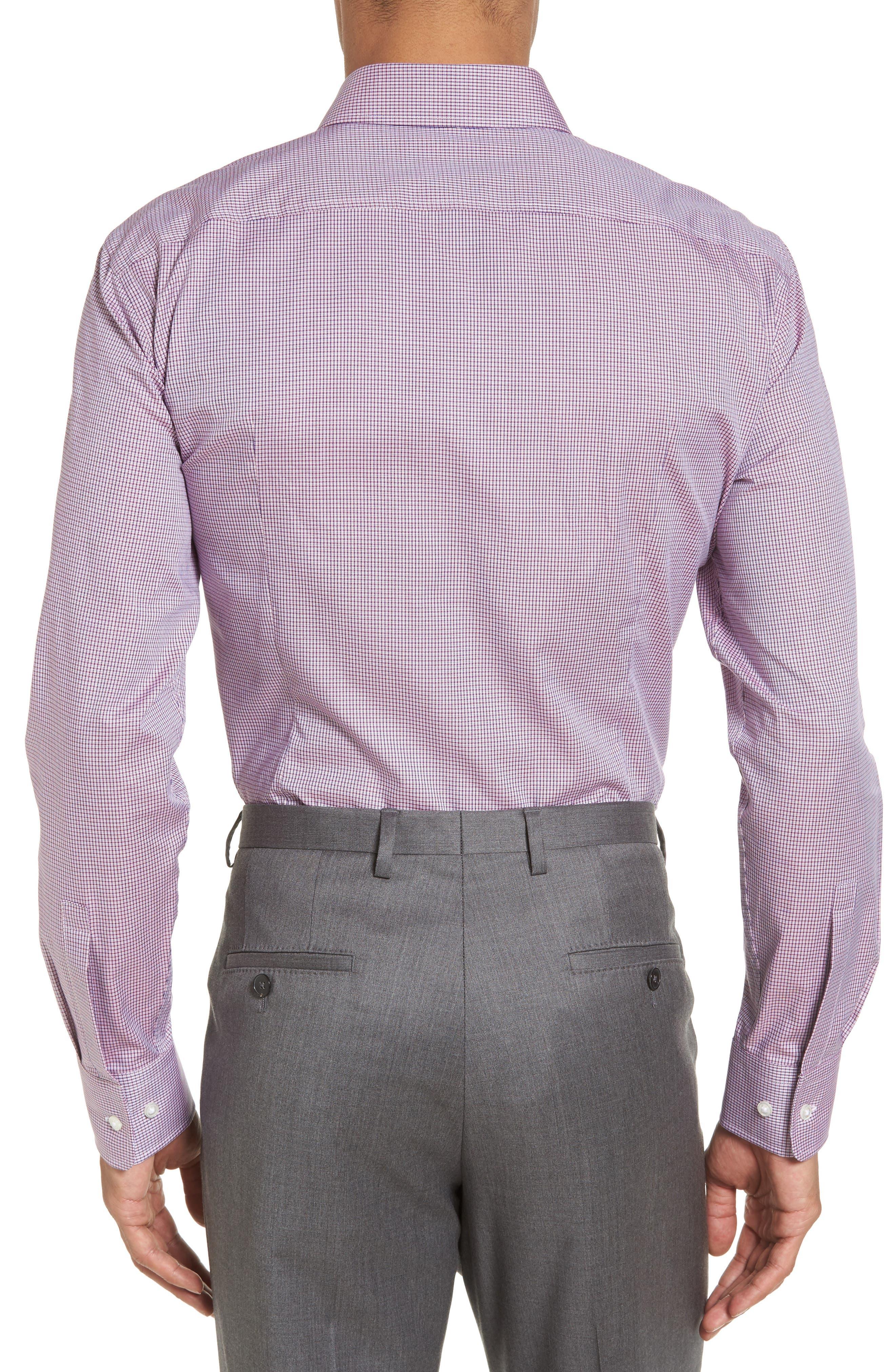Sharp Fit Check Dress Shirt,                             Alternate thumbnail 2, color,                             611