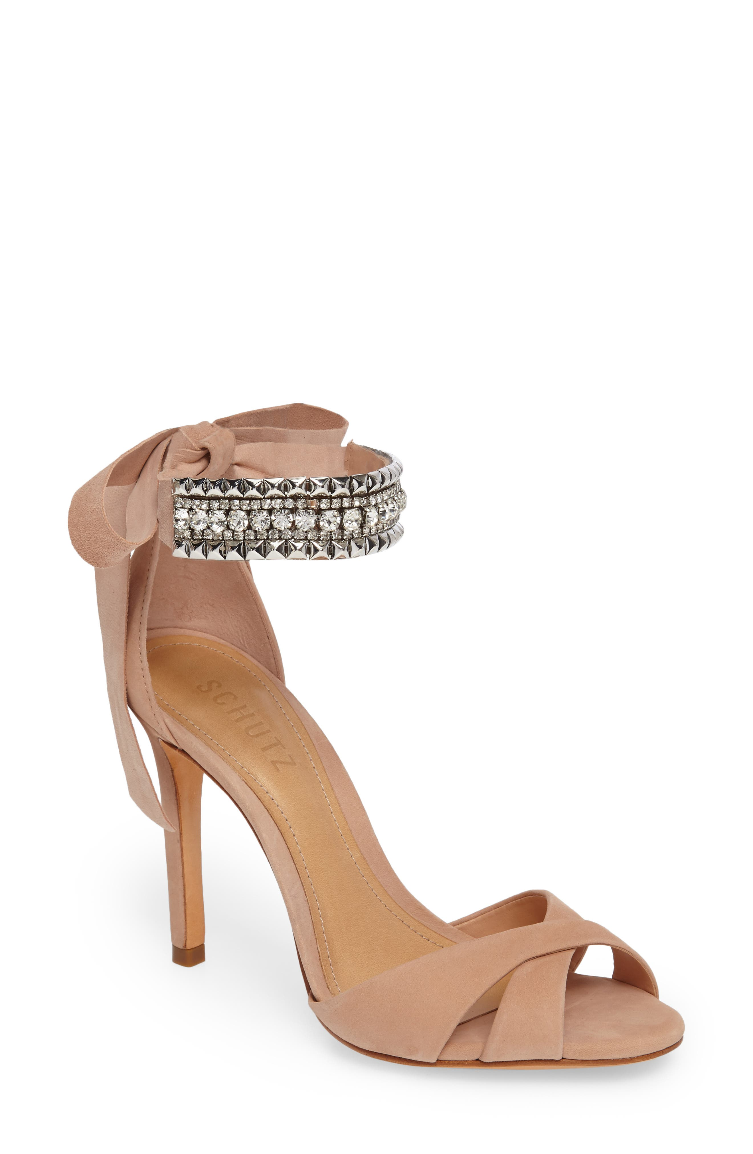 Larazee Embellished Sandal,                             Main thumbnail 2, color,