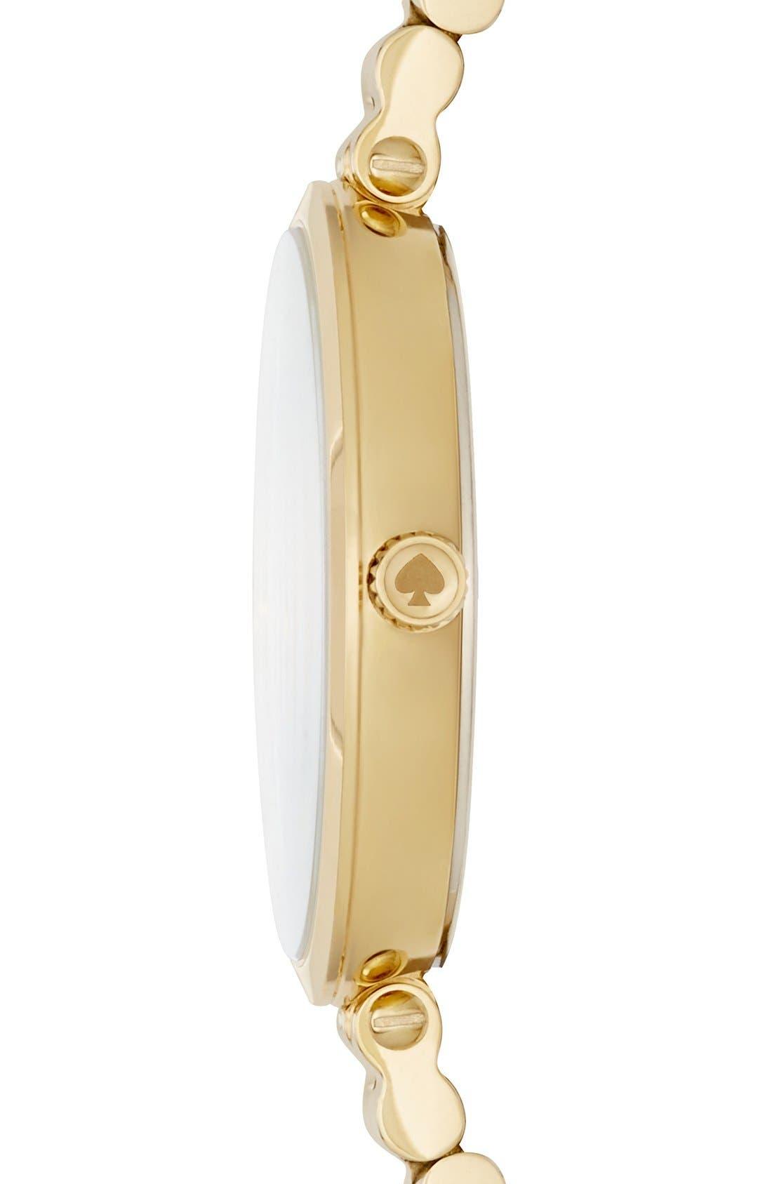 holland bracelet watch, 34mm,                             Alternate thumbnail 3, color,                             710