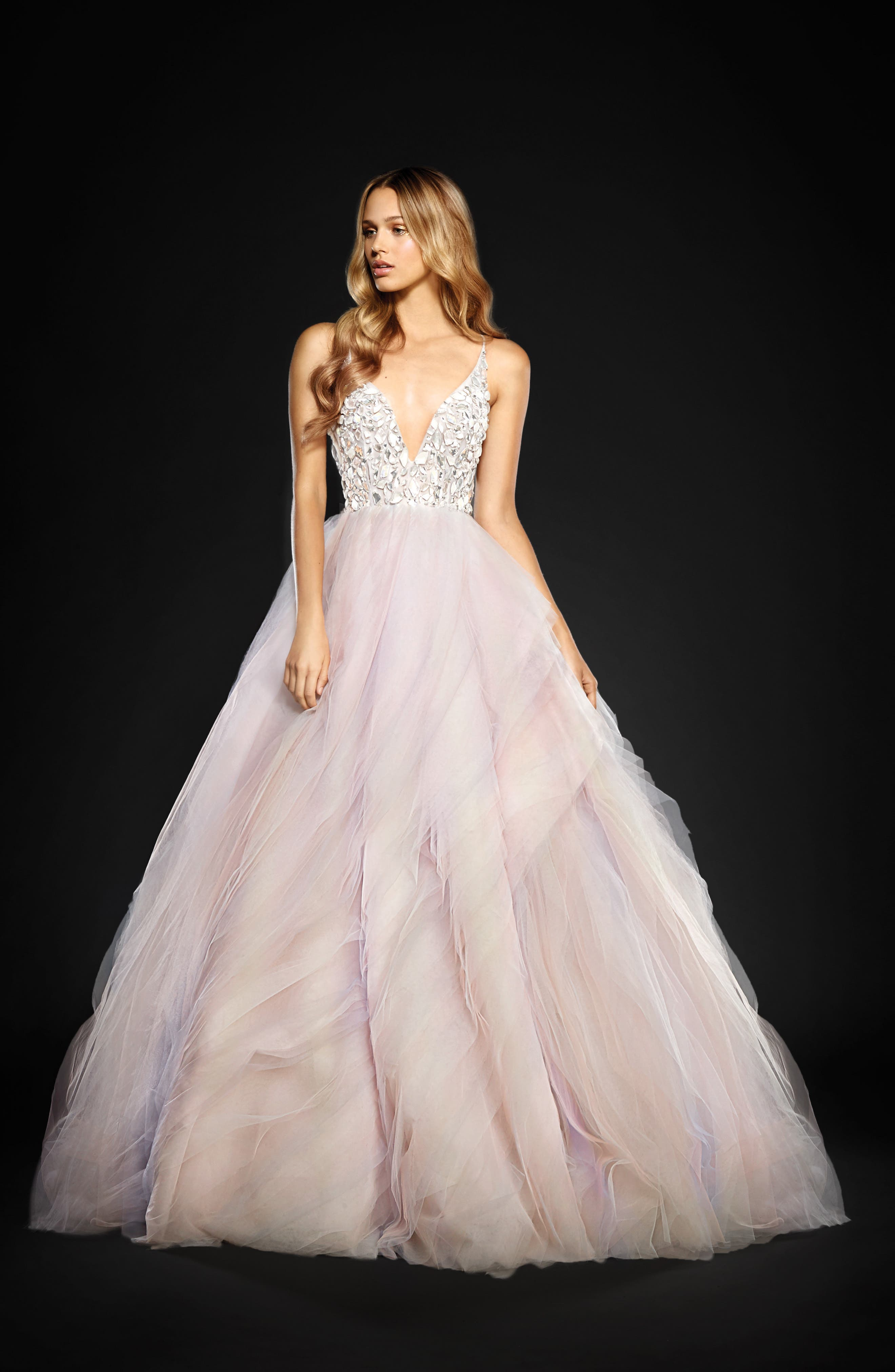 Jem Rock Candy Embellished Tulle Ballgown,                             Main thumbnail 1, color,                             900