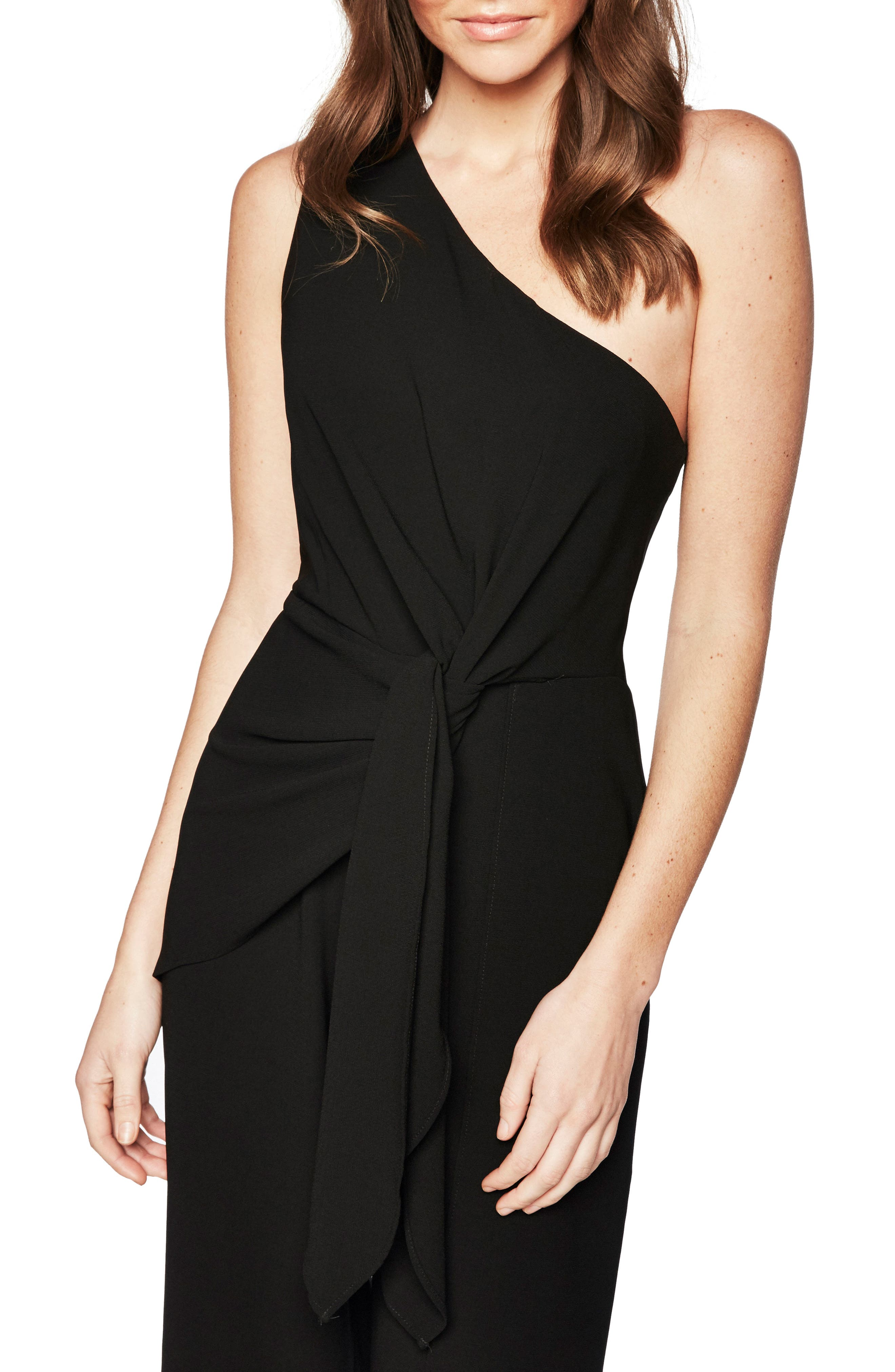 Bellini One-Shoulder Jumpsuit,                         Main,                         color, 001